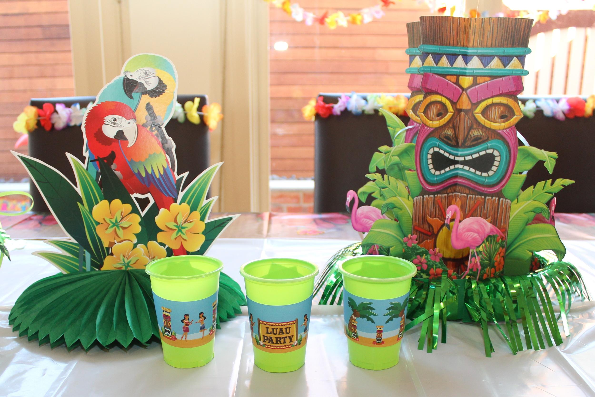 Hawaiian Luau Decorating ideas