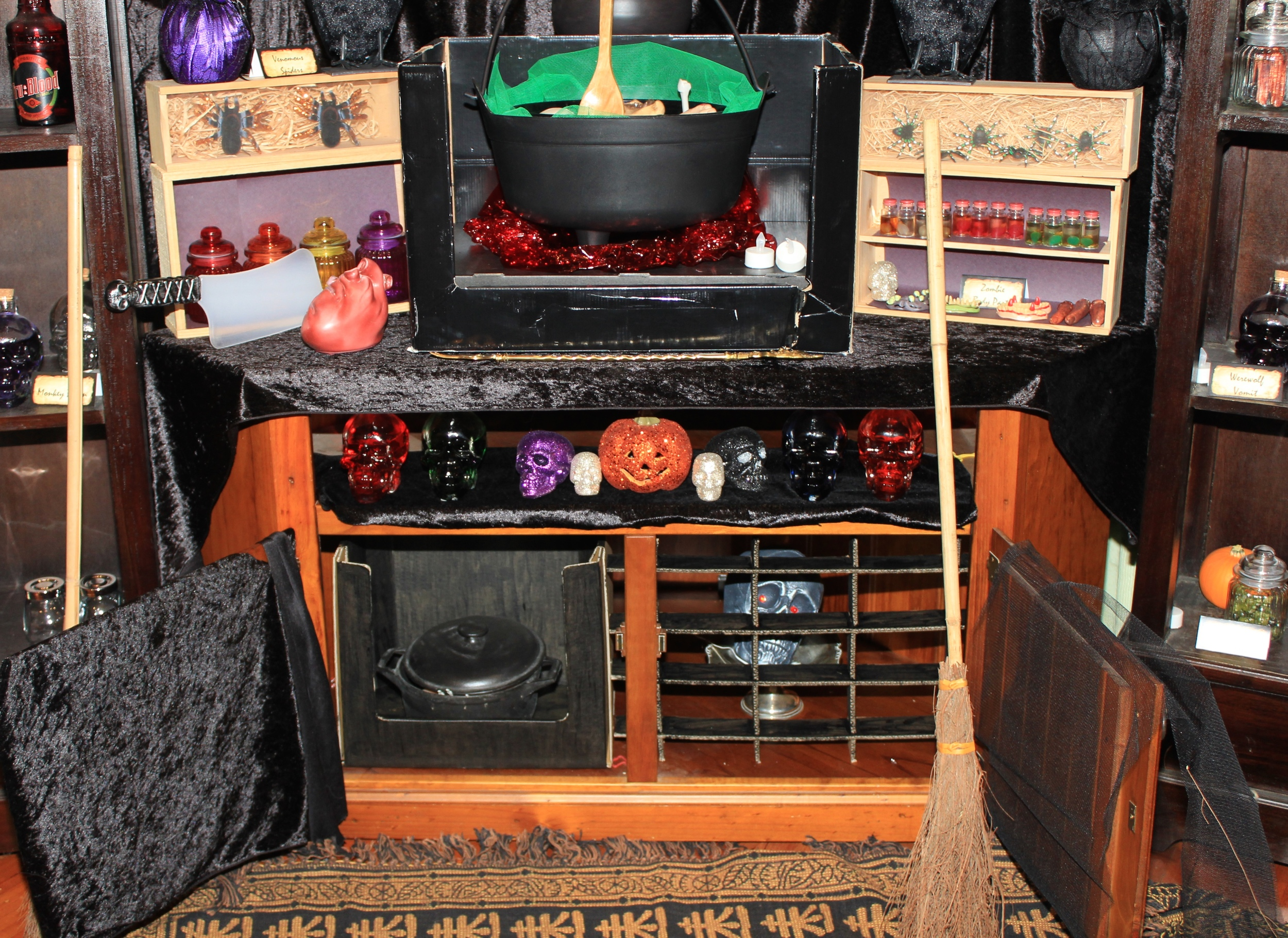 Halloween Witch Oven Decorating Ideas
