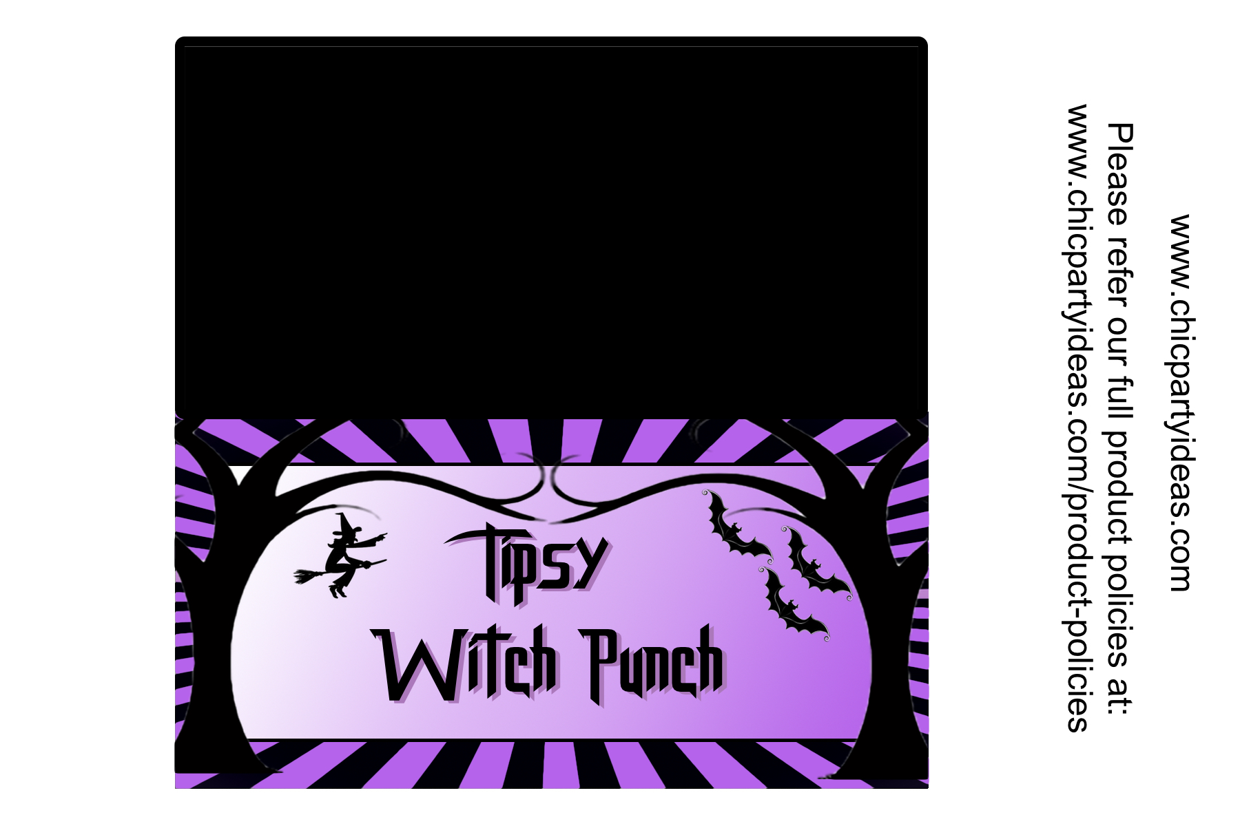 halloween punch free printable