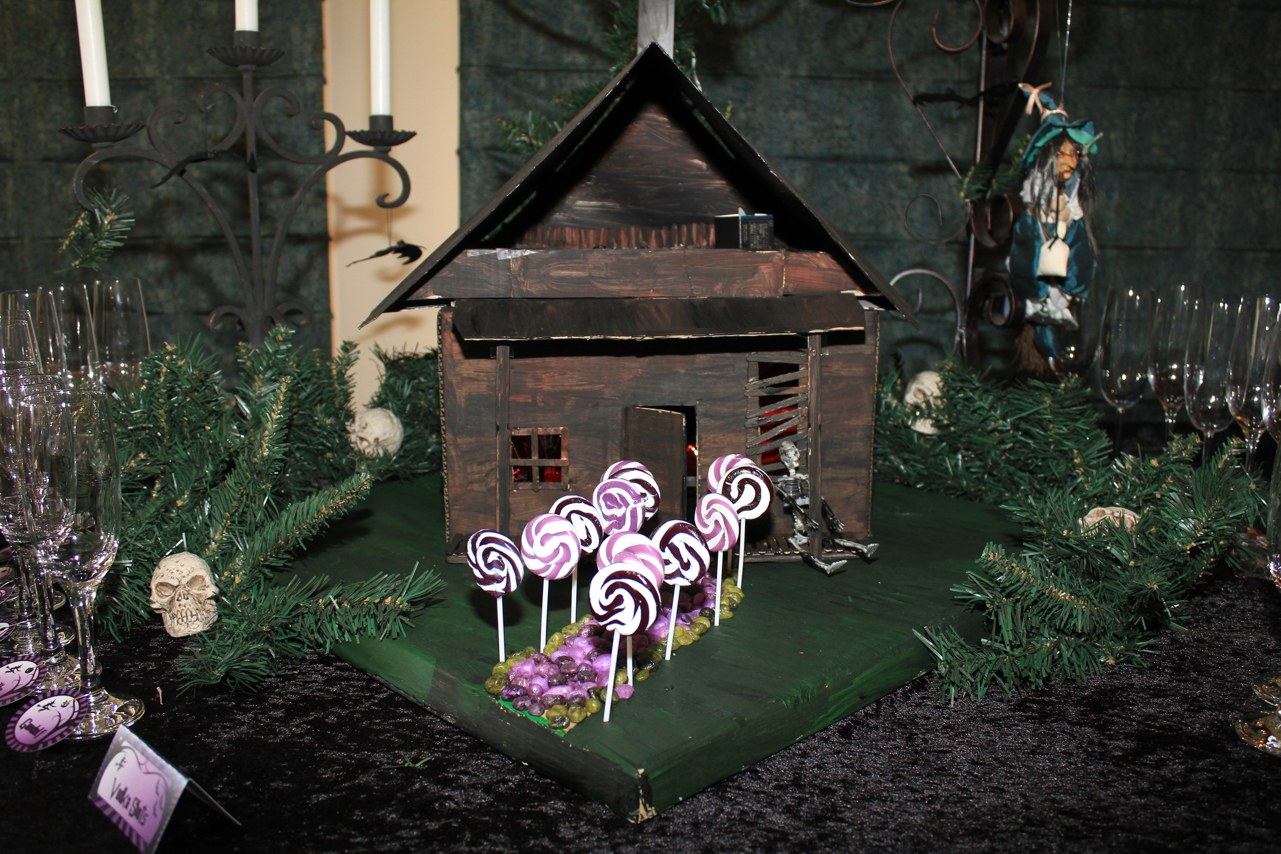 Halloween Hansel and Gretel Candy House
