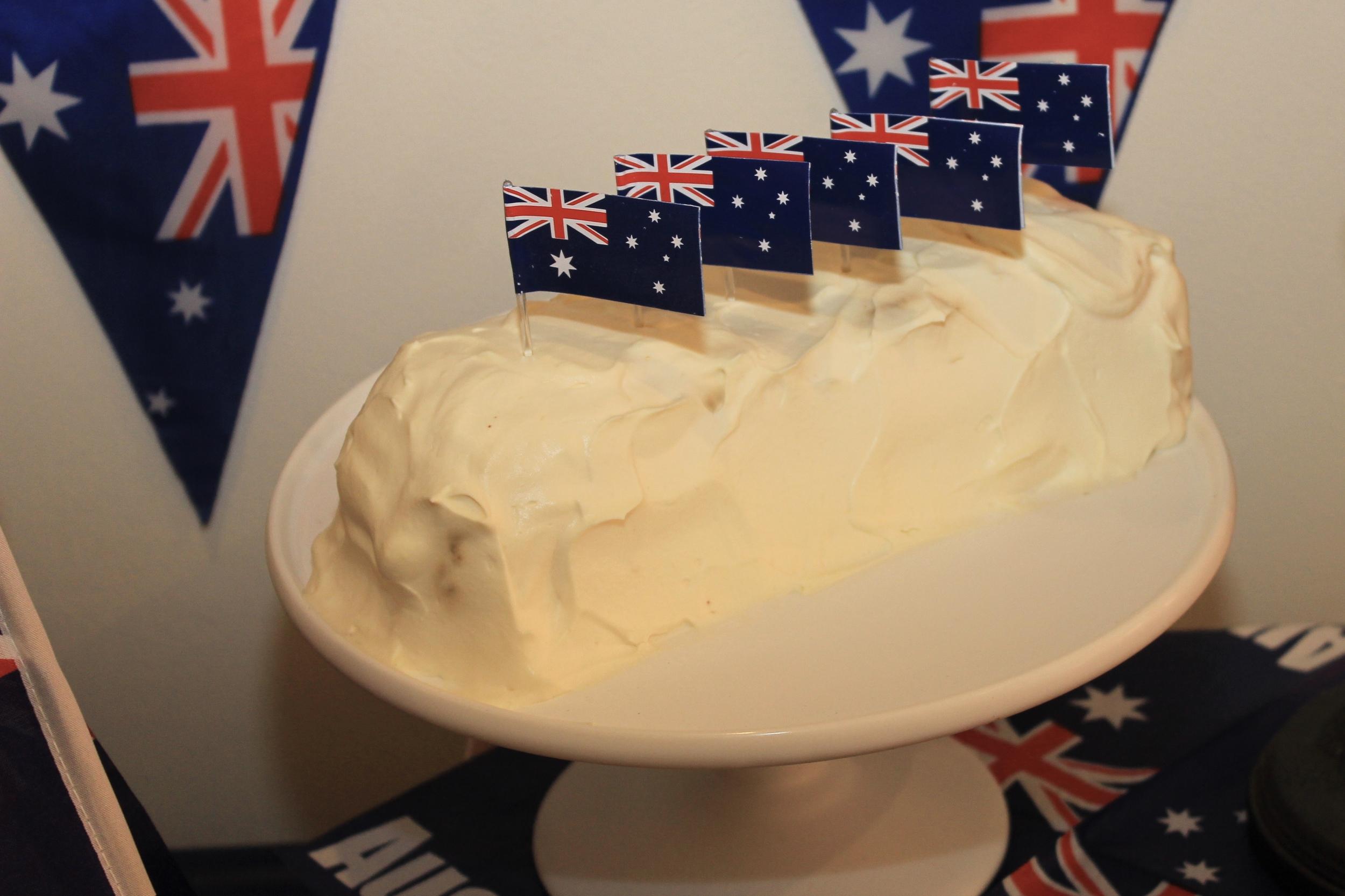 Chocolate Ripple Cake - Australia Day