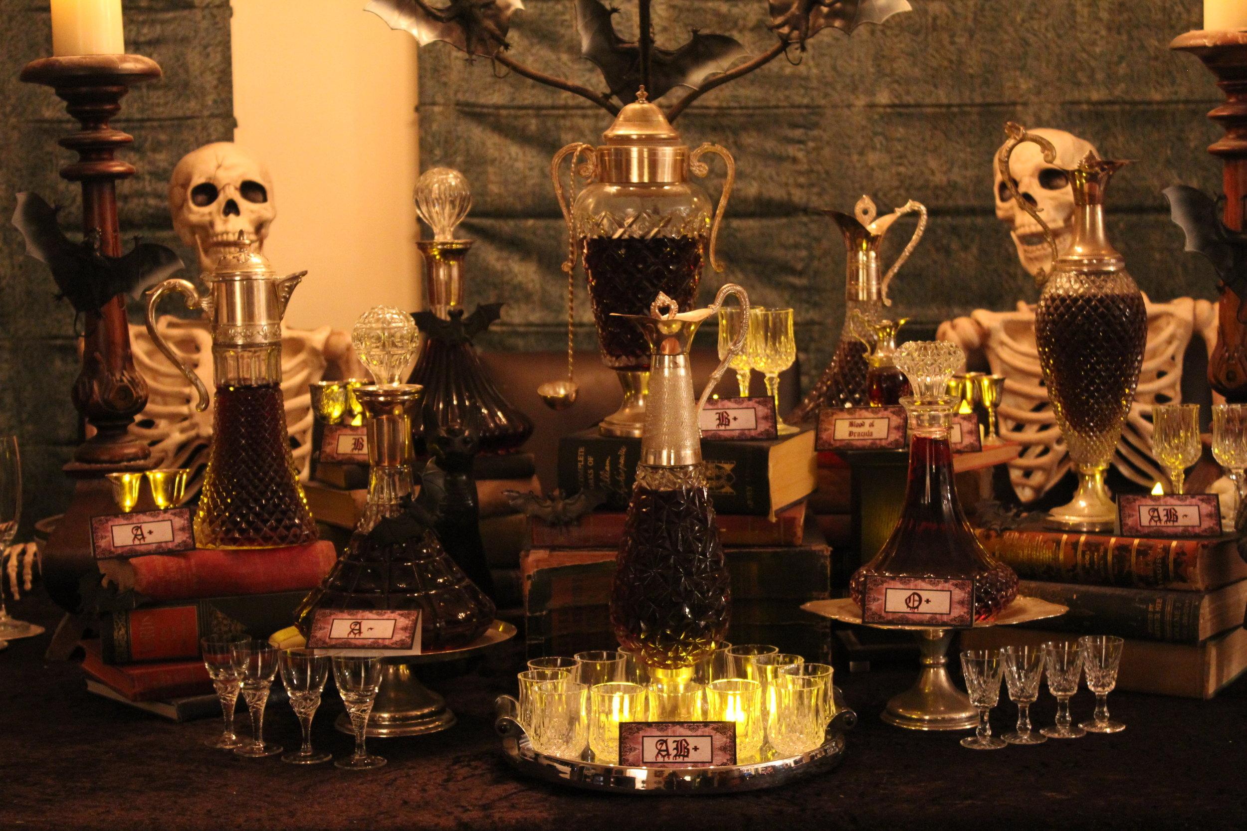 Halloween Gothic Vampire Party - Vintage