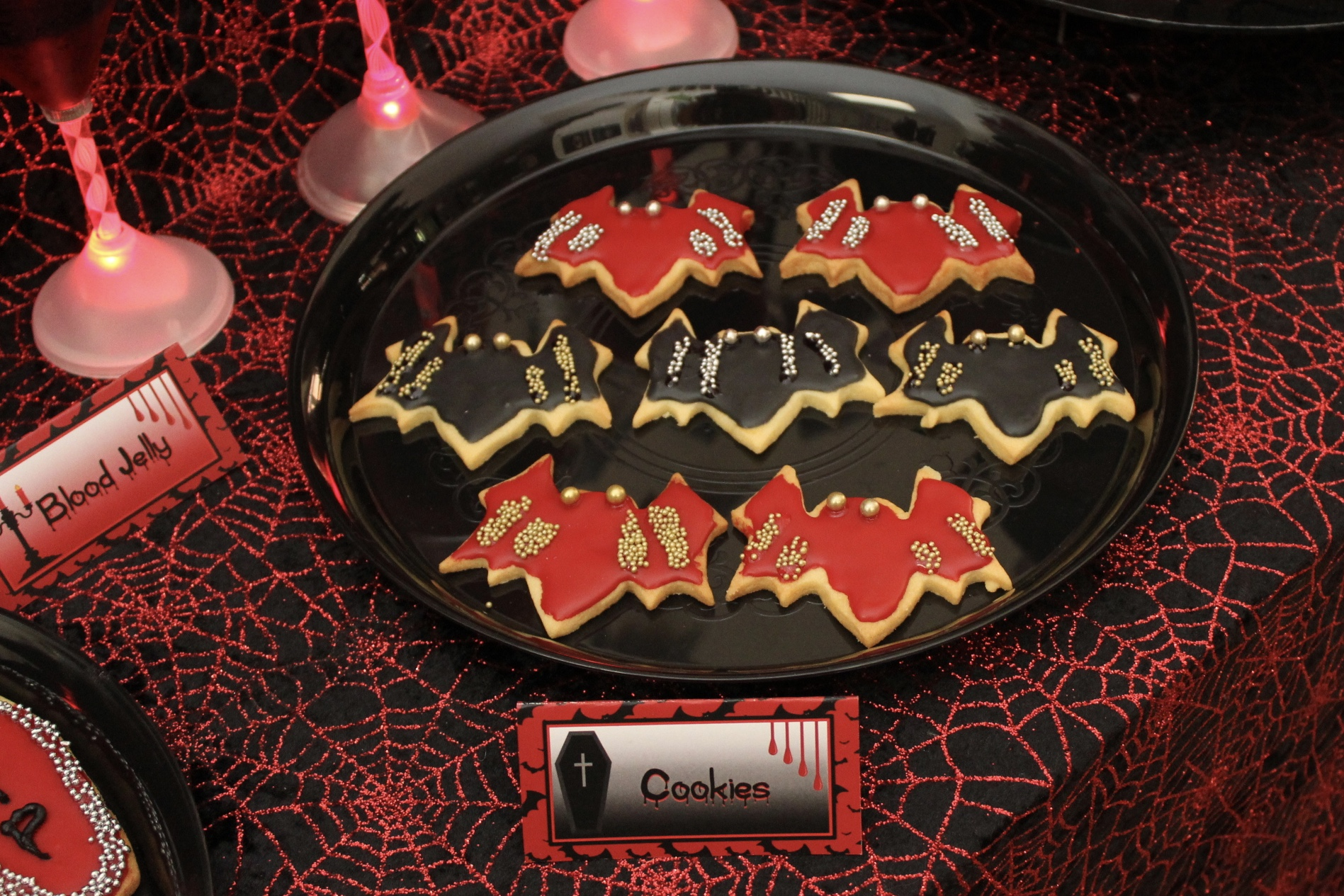 Halloween Bay Cookies - Vampire Party