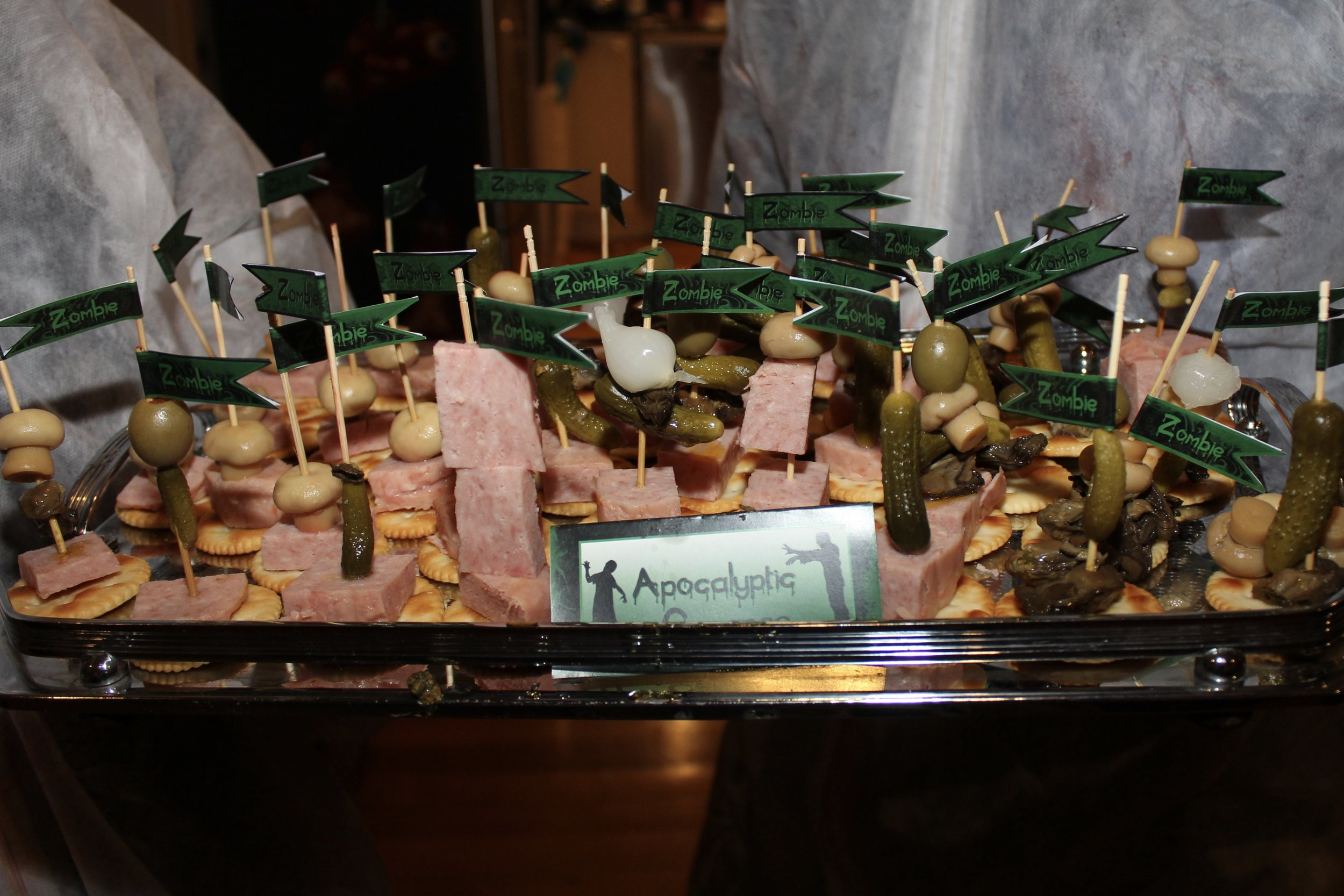 The Walking Dead Canapes