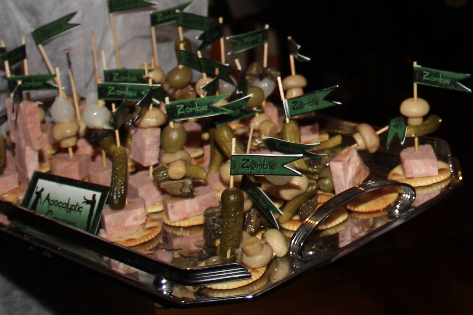Spam Canapes