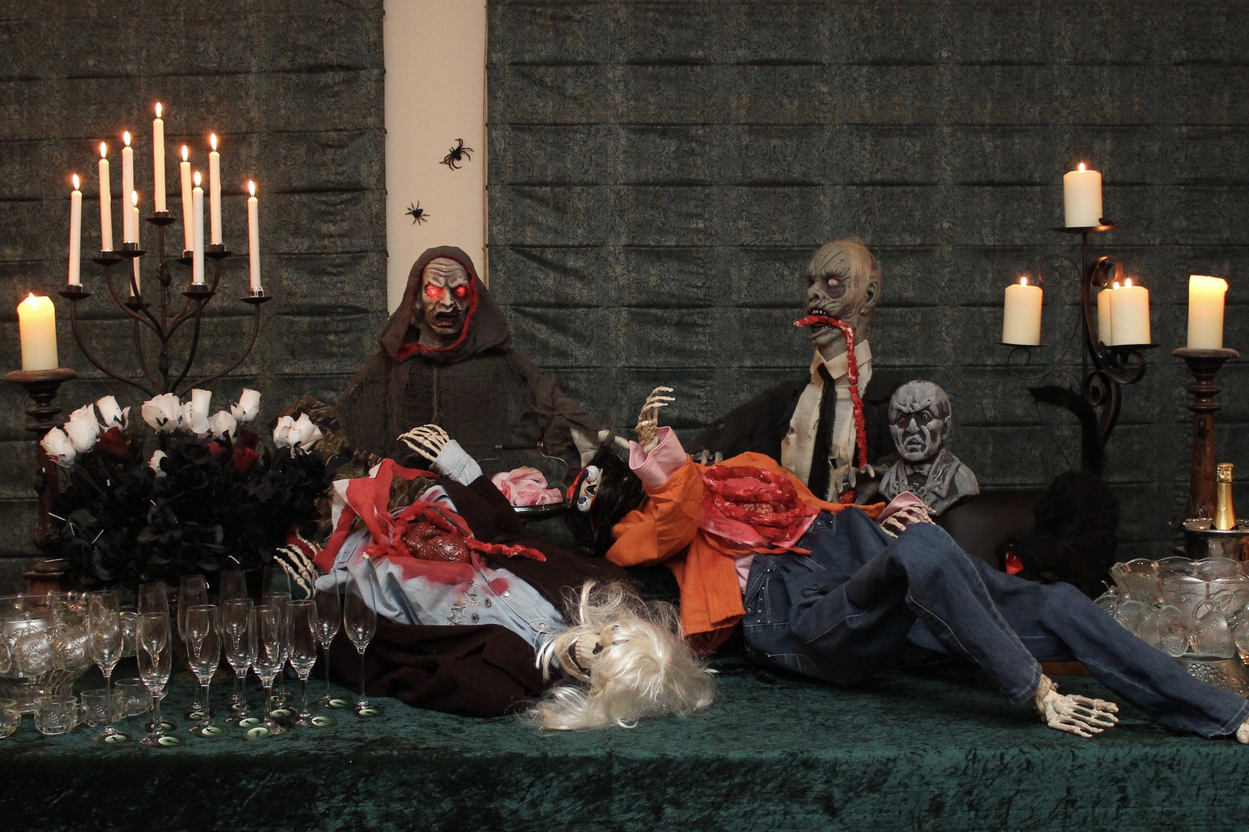 The Walking Dead party - Zombie Invasion