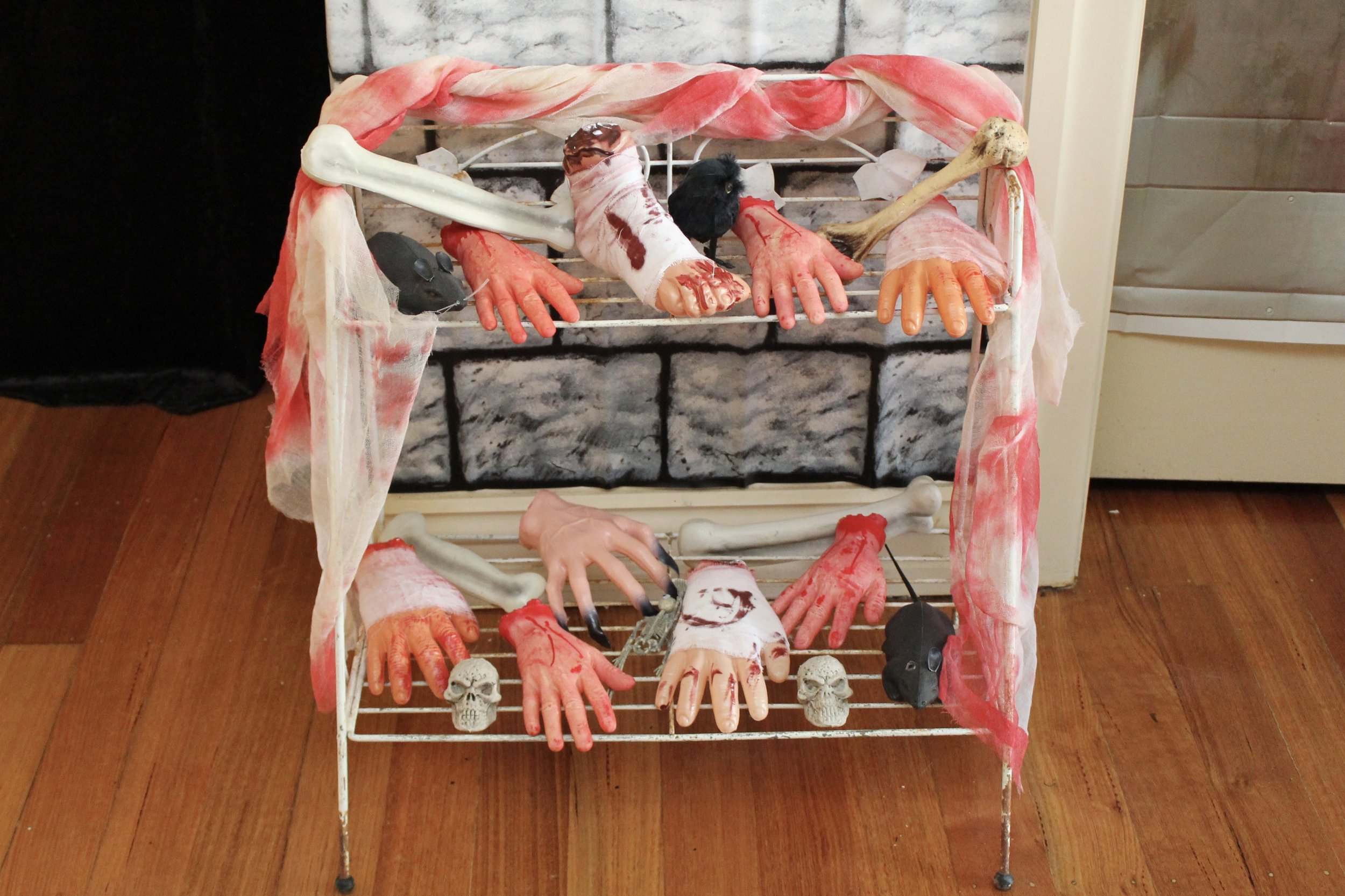 The Walking Dead severed hands