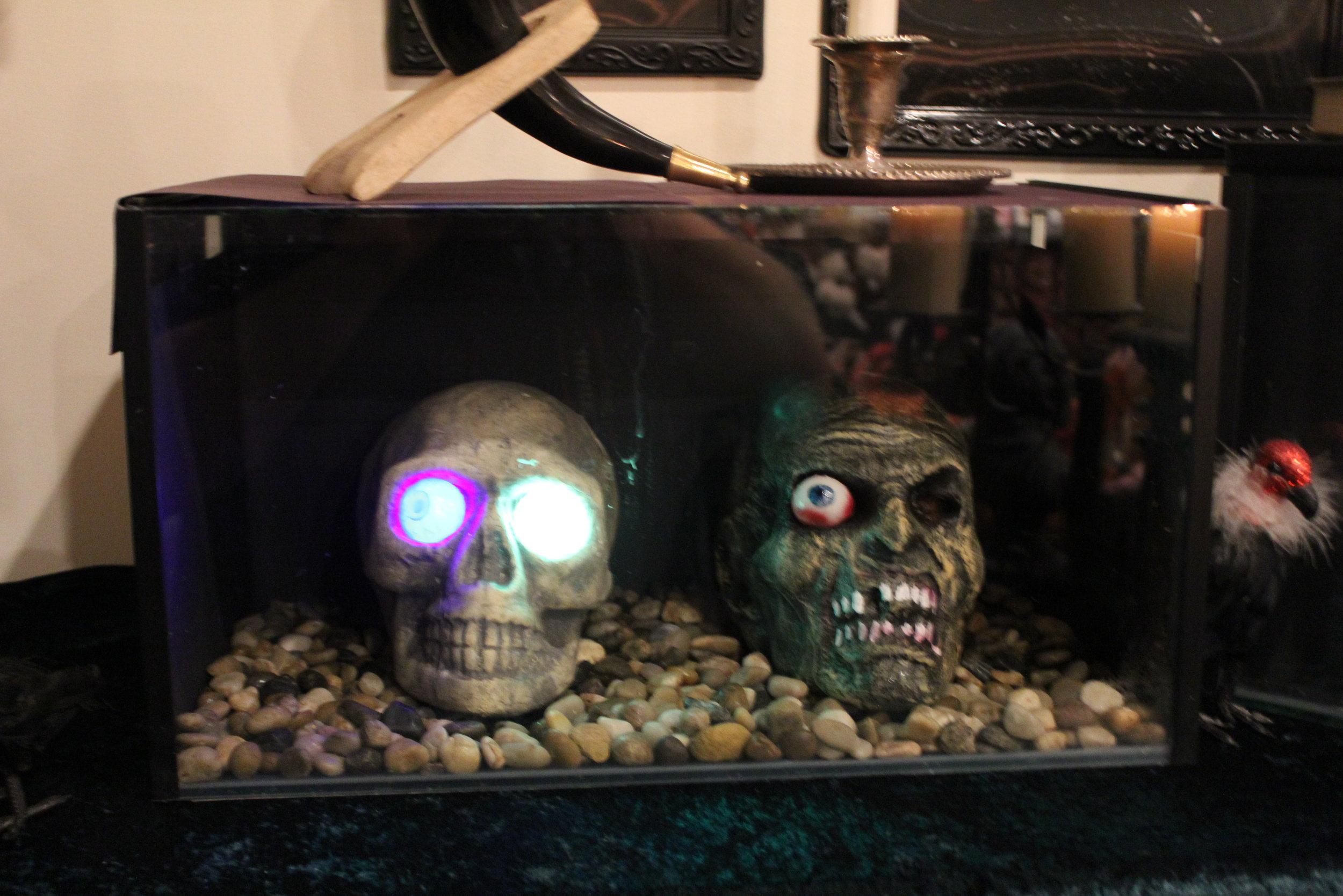 The Walking Dead Zombie Heads