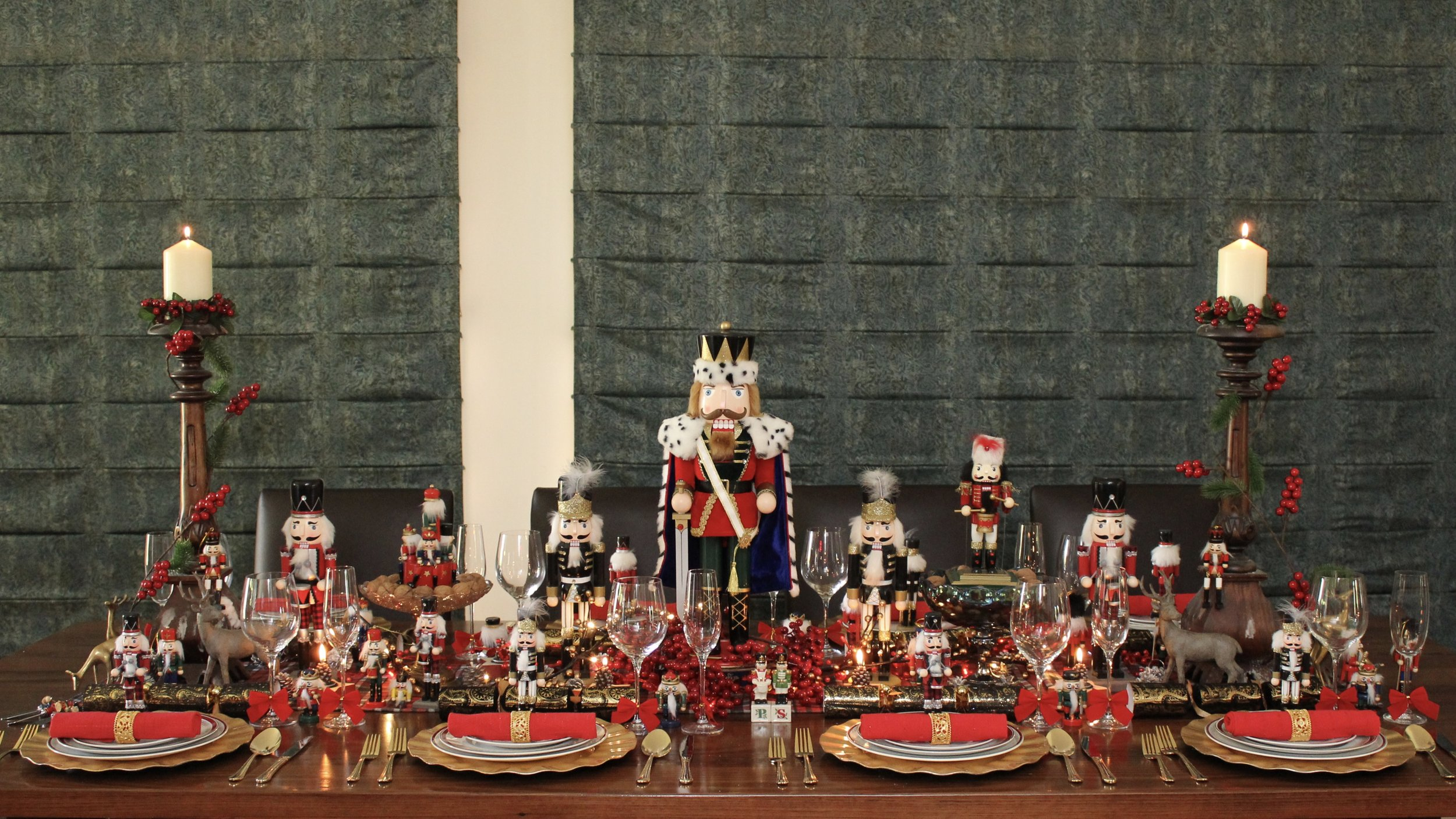 Nutcracker Christmas Table