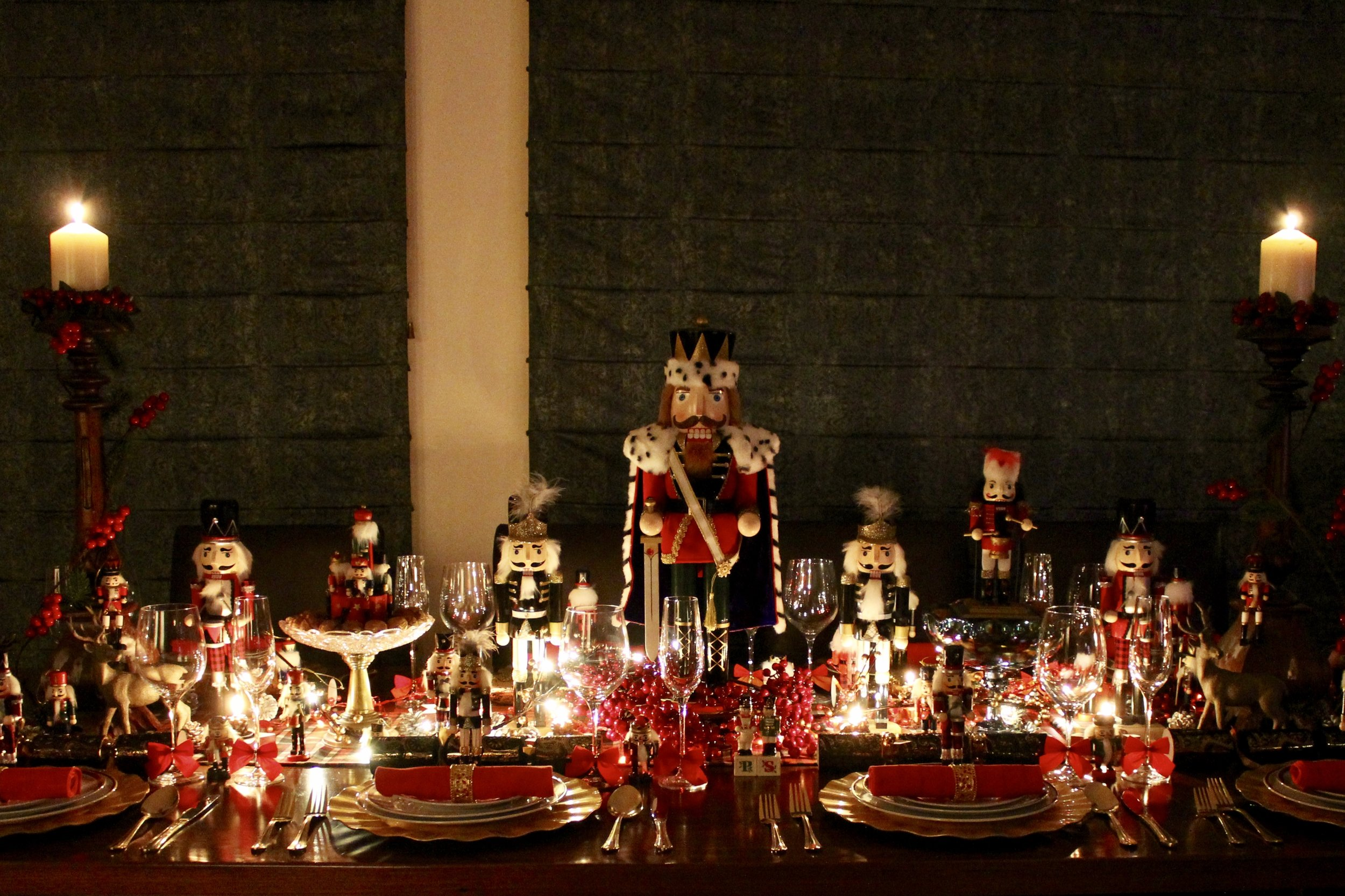 Christmas Table Nutcracker Ideas