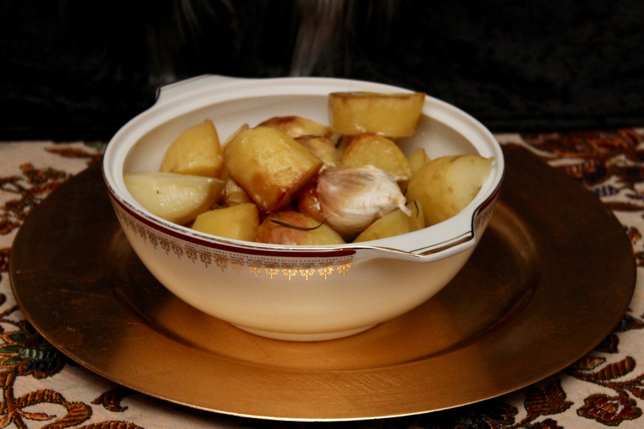 Medieval Dinner Party Sides - Roast Potato