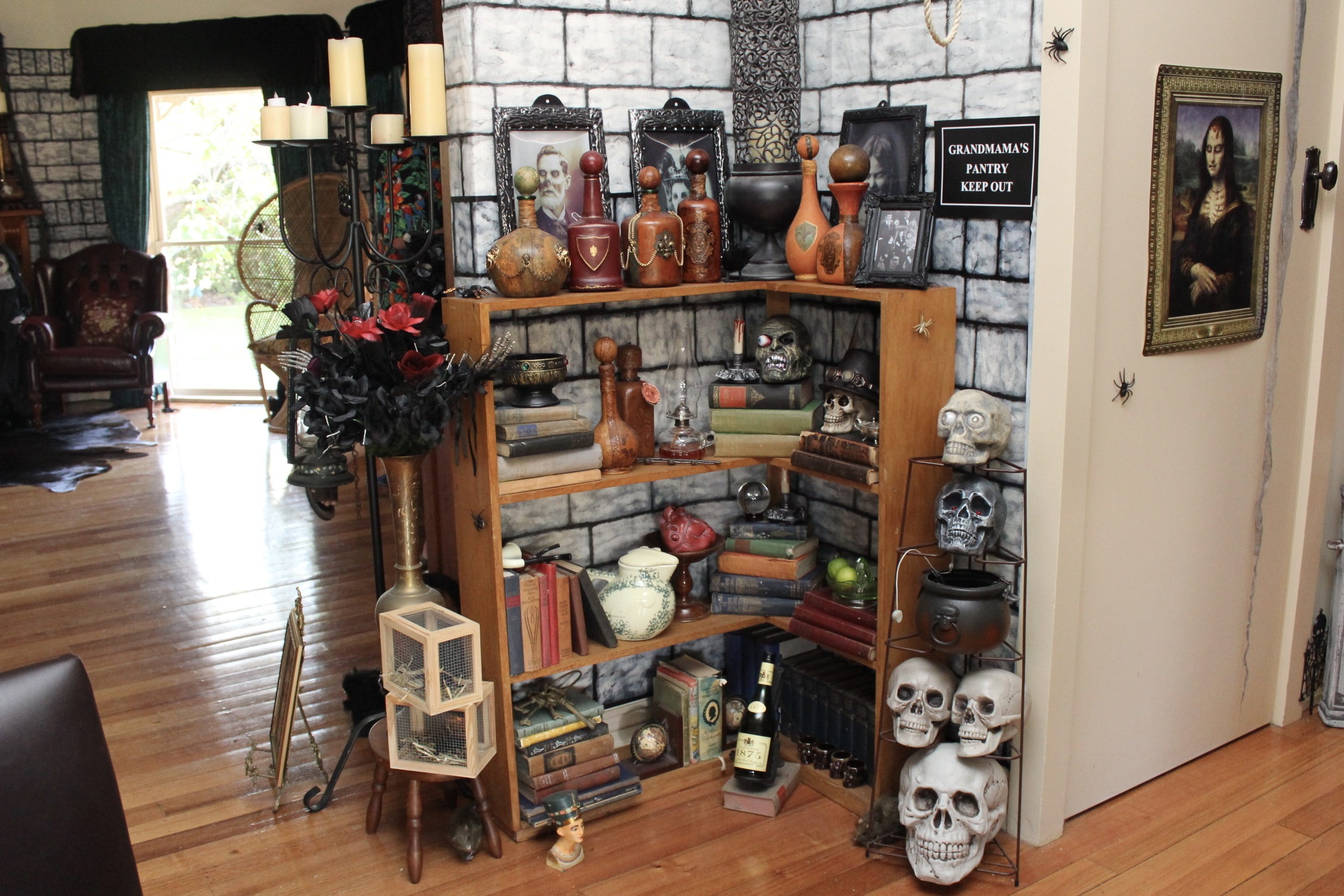 The Addams Family Party Ideas Grandmama's Pantry
