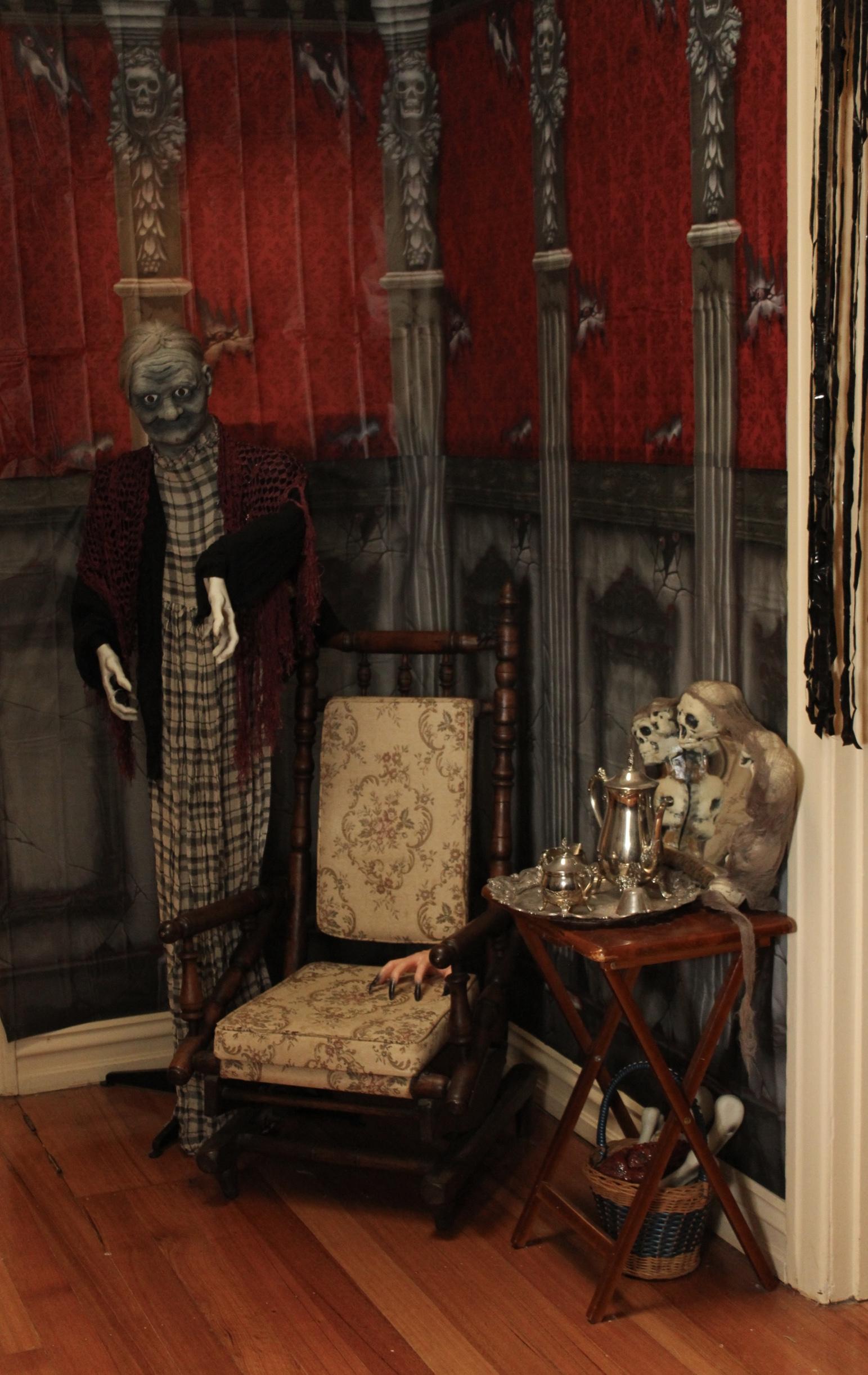 Grandmama's Addams corner