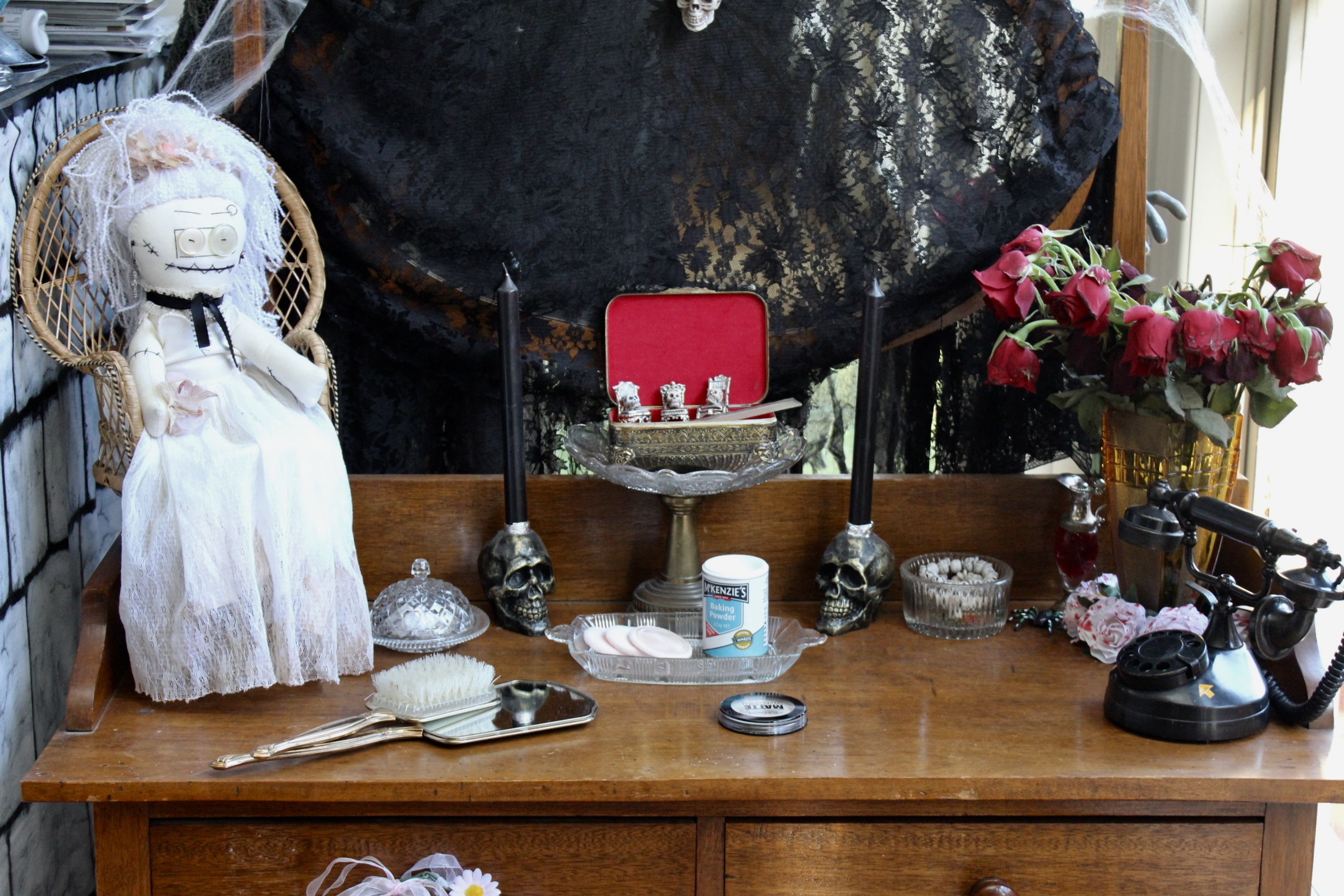 The Addams Family Morticia Addams Dressing Table