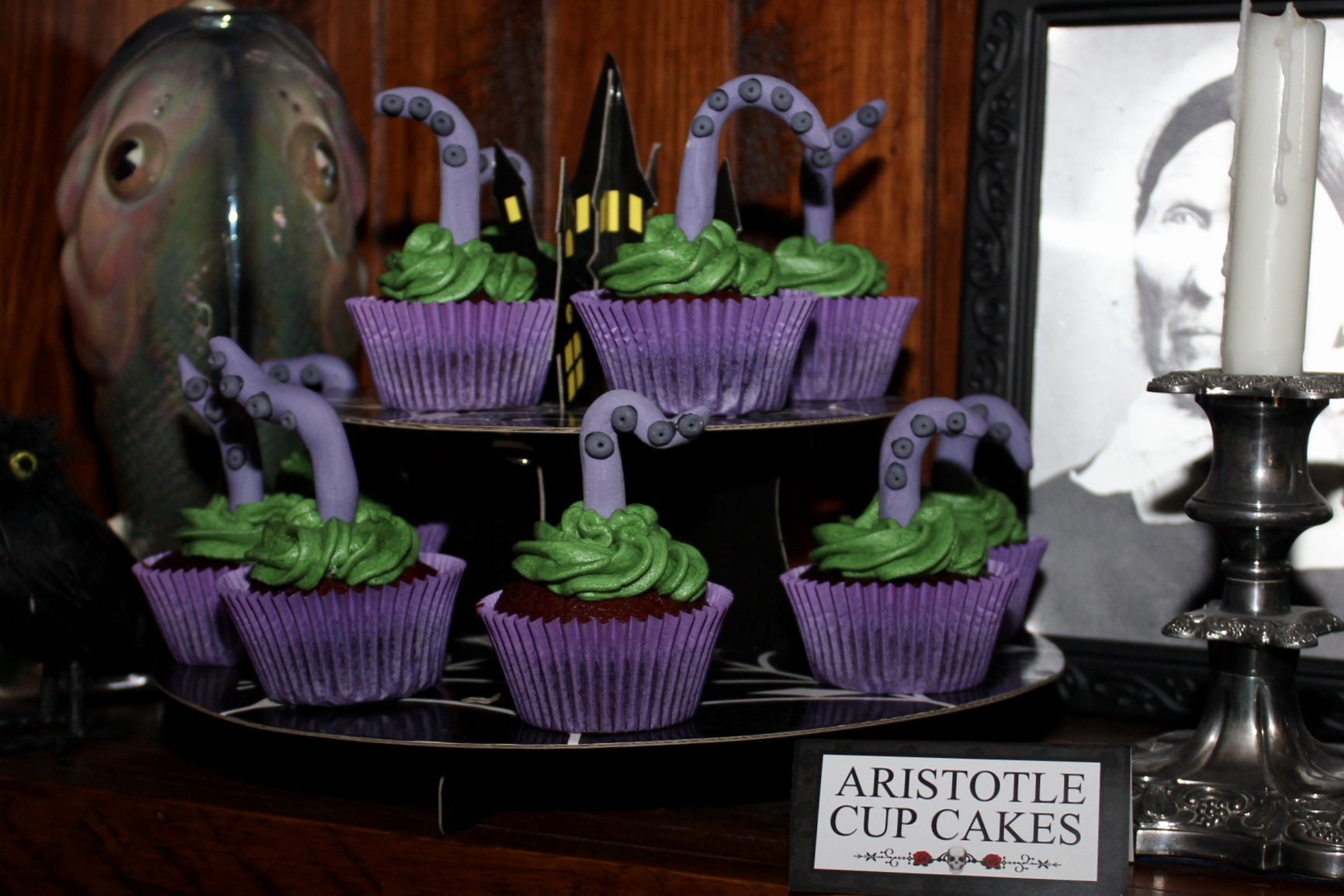 The Addams Family Cup Cakes - Aristotle
