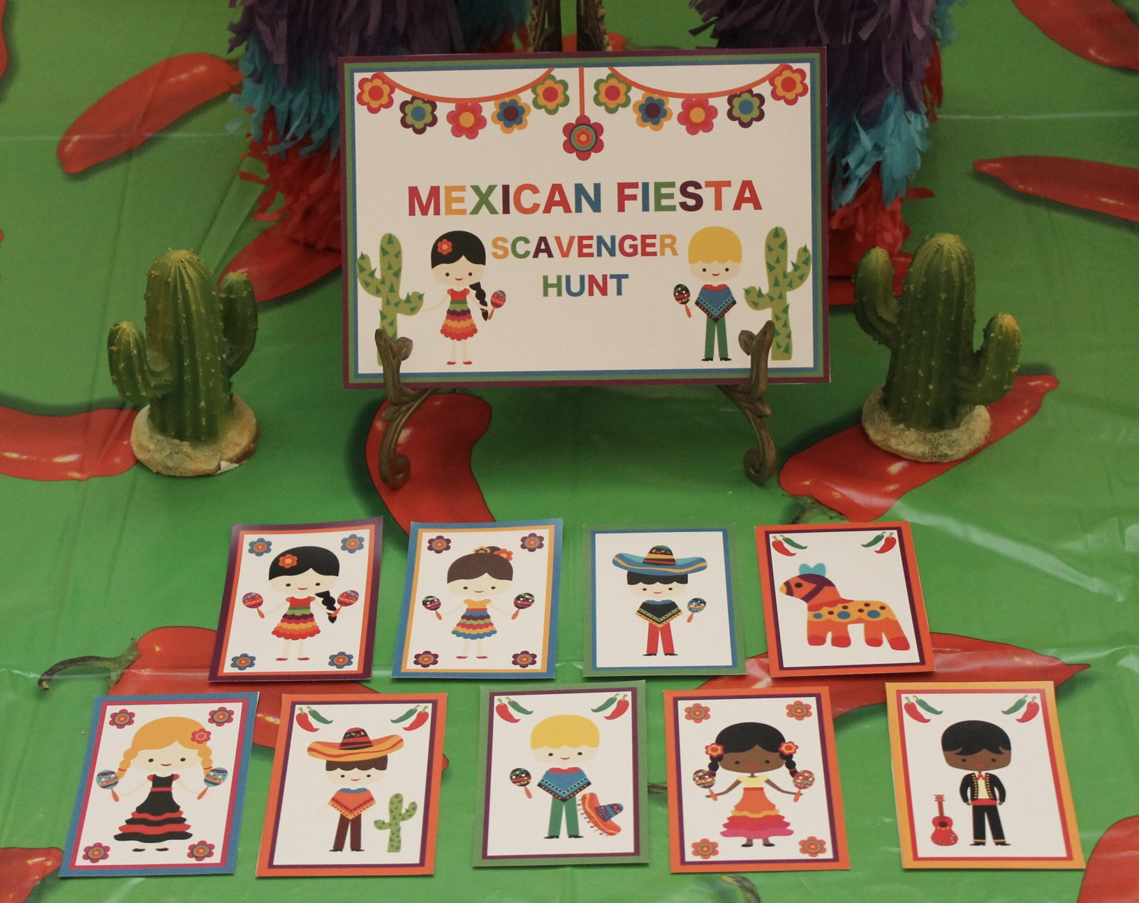 Mexican Party Scavenger Hunt