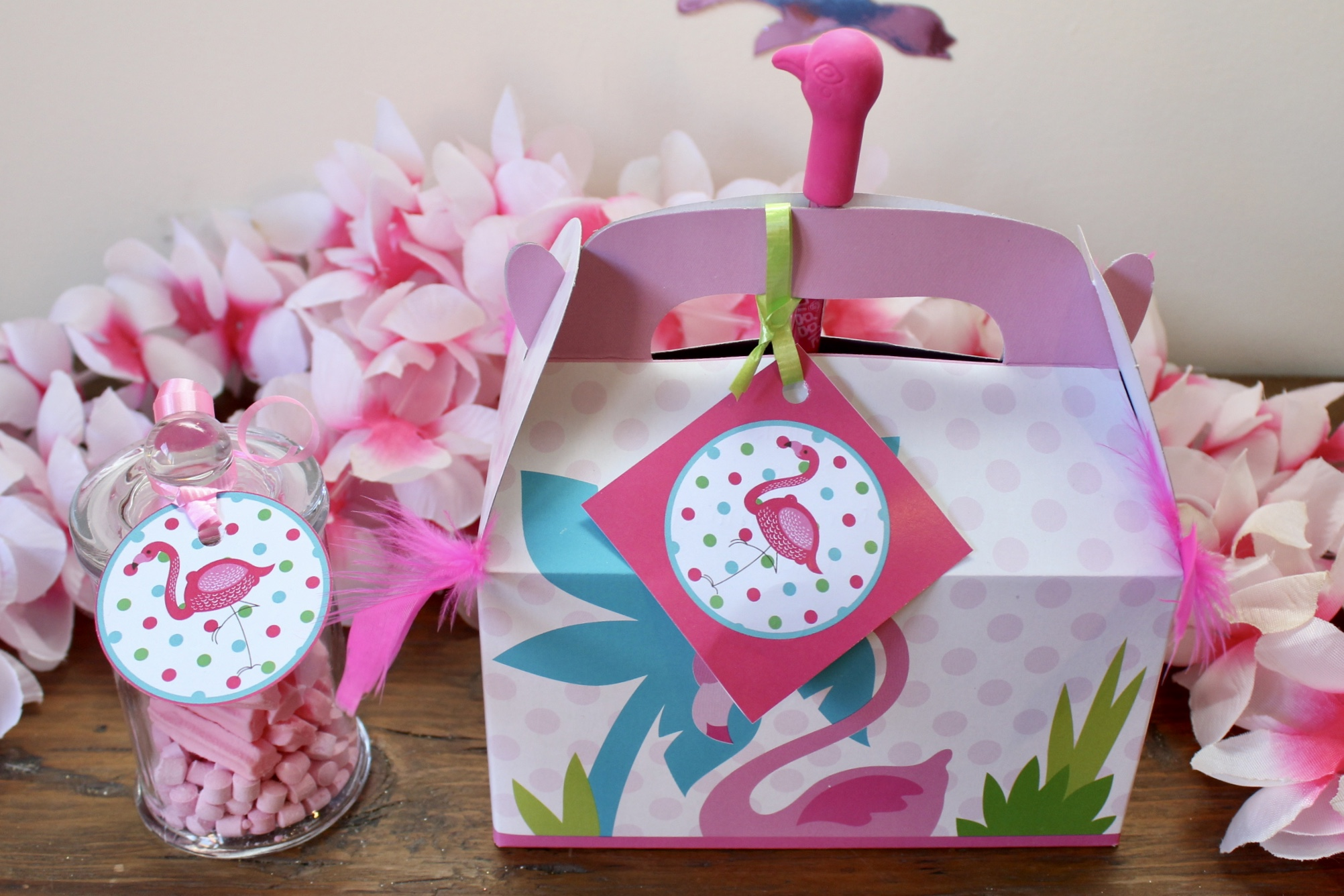 Flamingo Party Favours