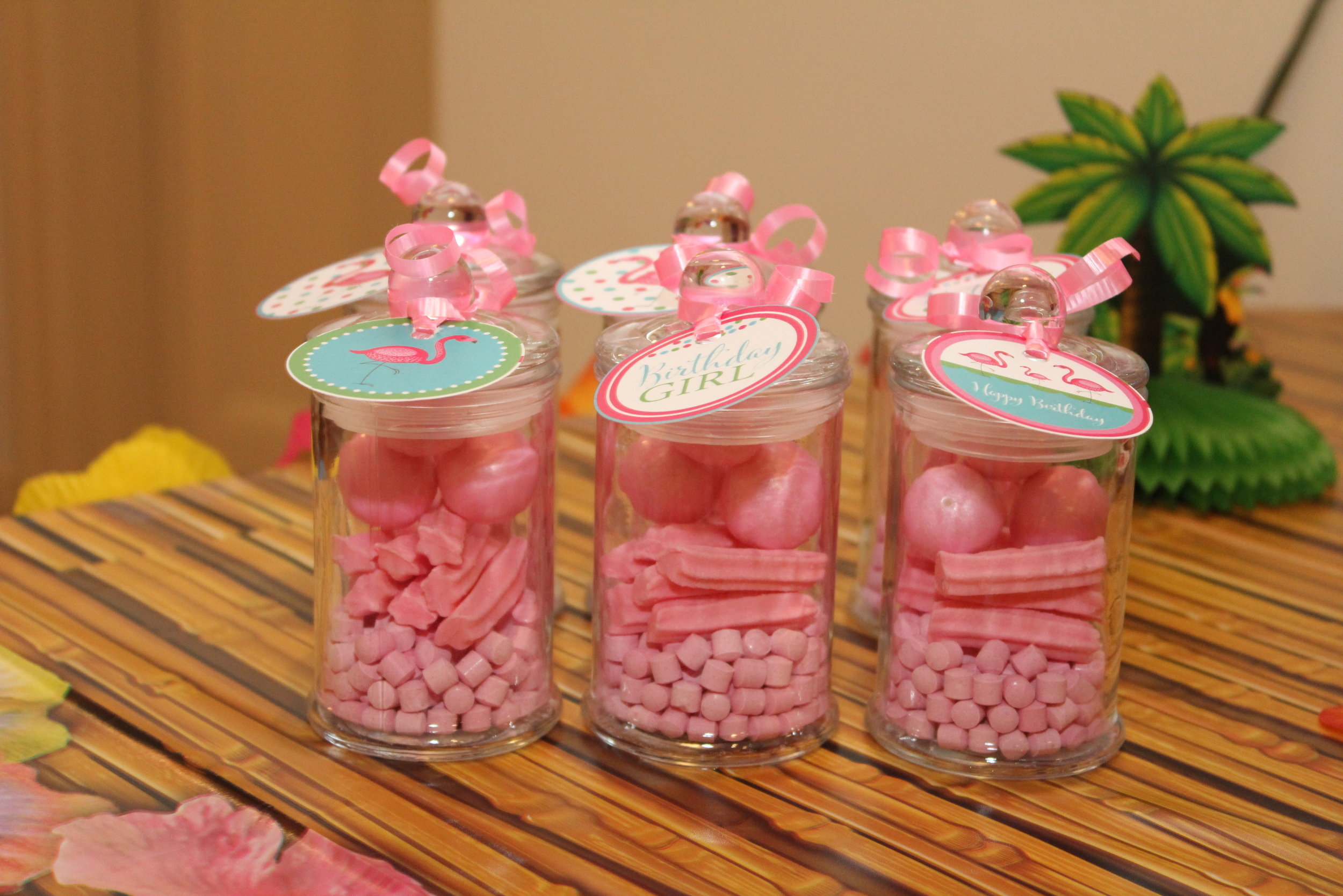 Flamingo Party Favours - Pink Candy
