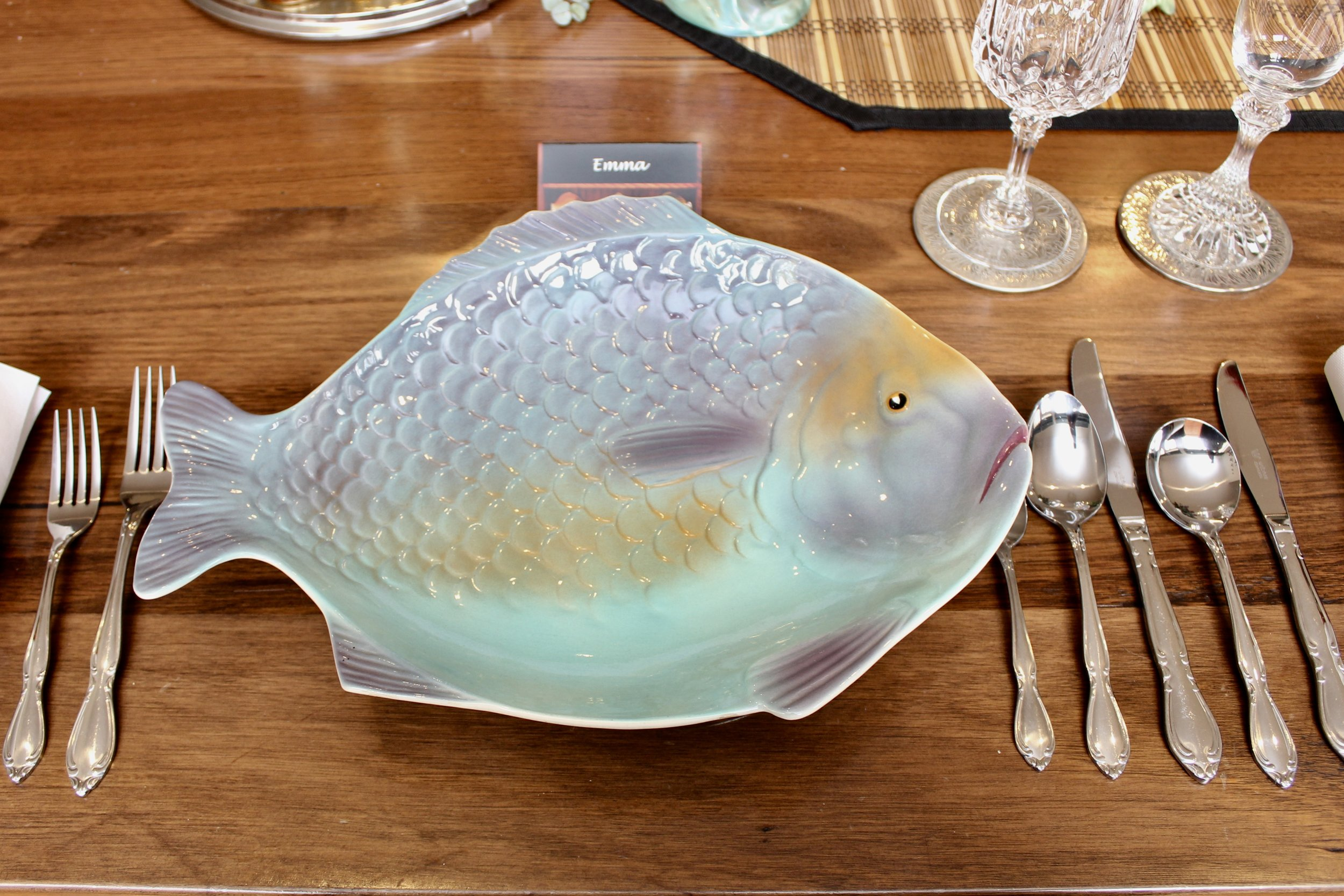 Shorter and Sons Fish Plate