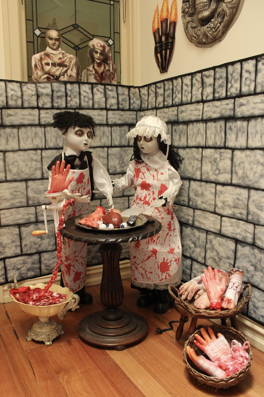 Asylum Halloween Decorating Ideas