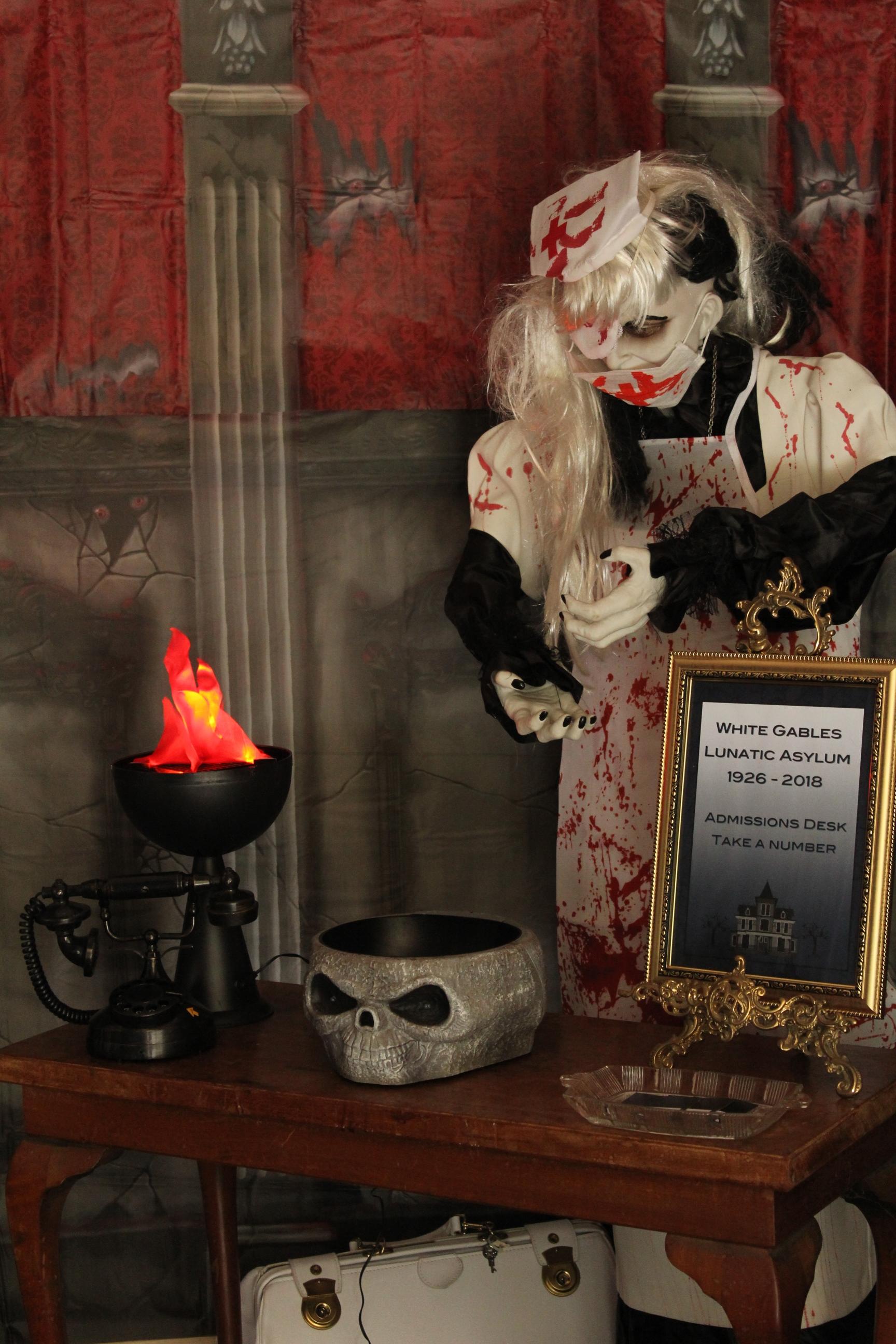 Asylum Halloween Nurse