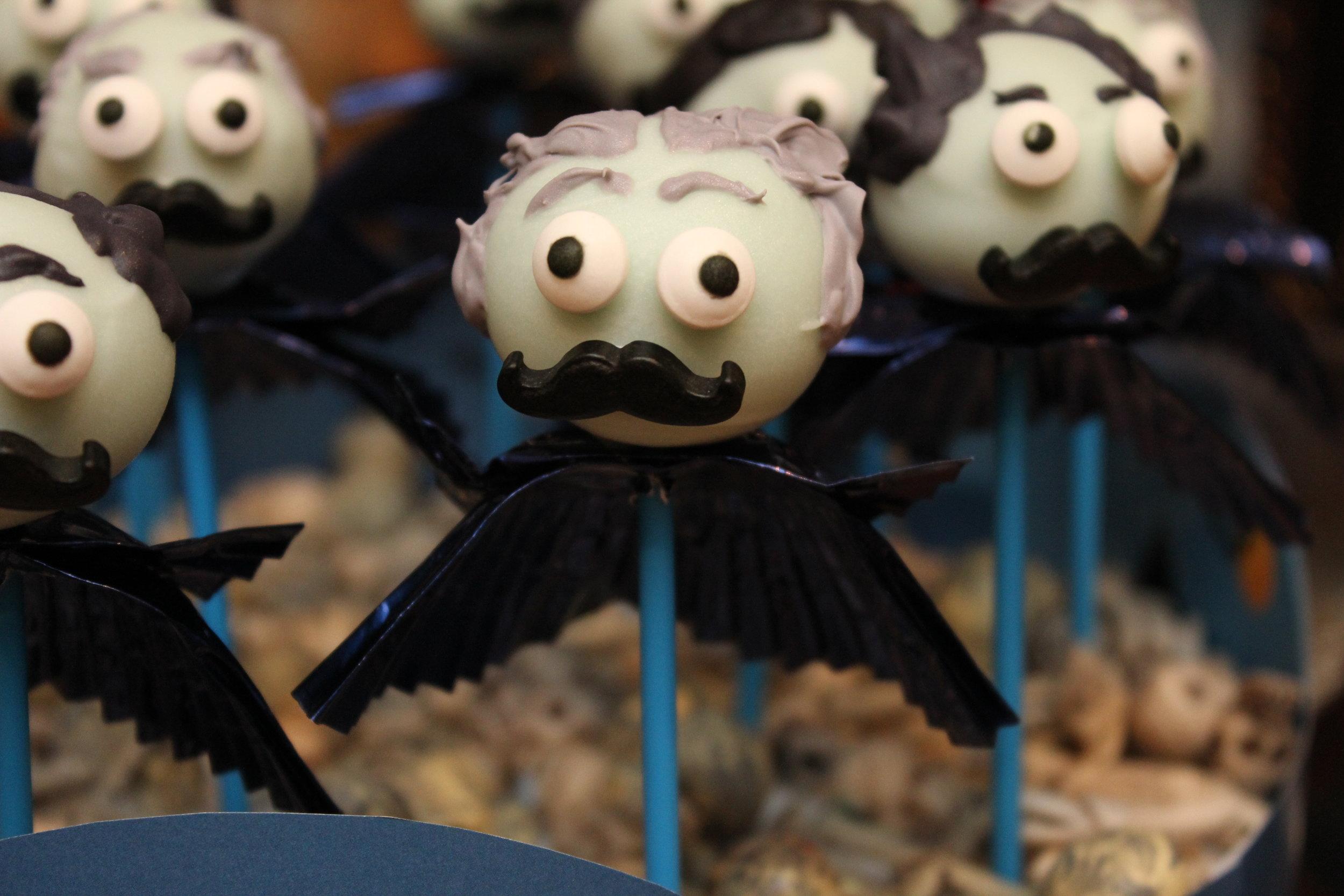 Asylum Halloween Cake Pops