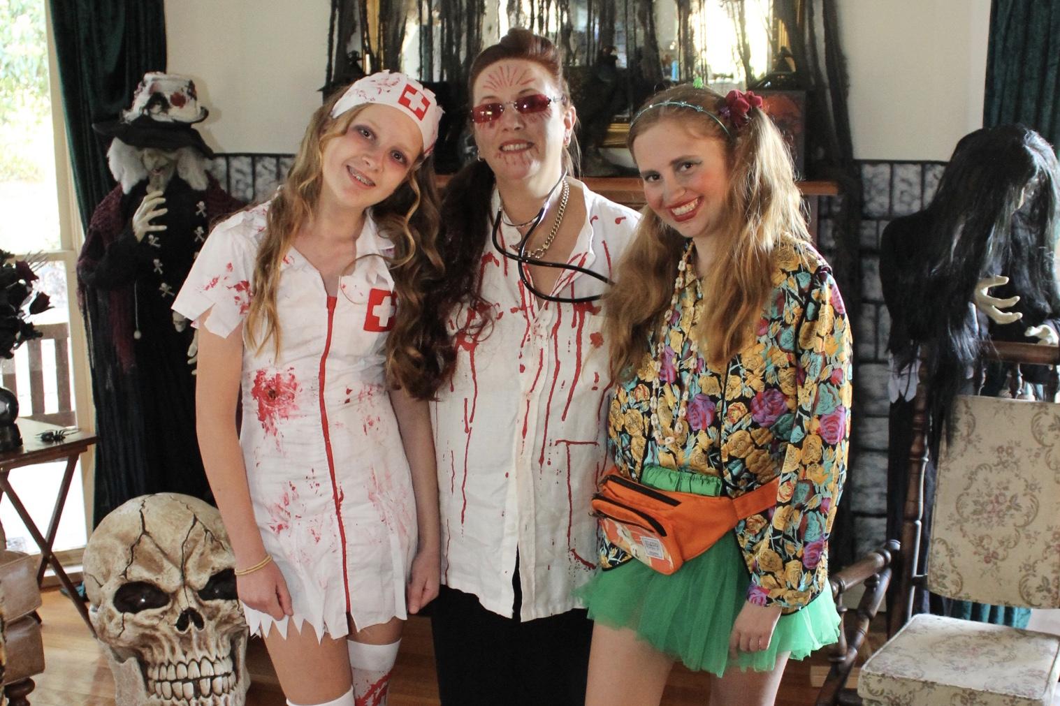 Halloween Asylum Party