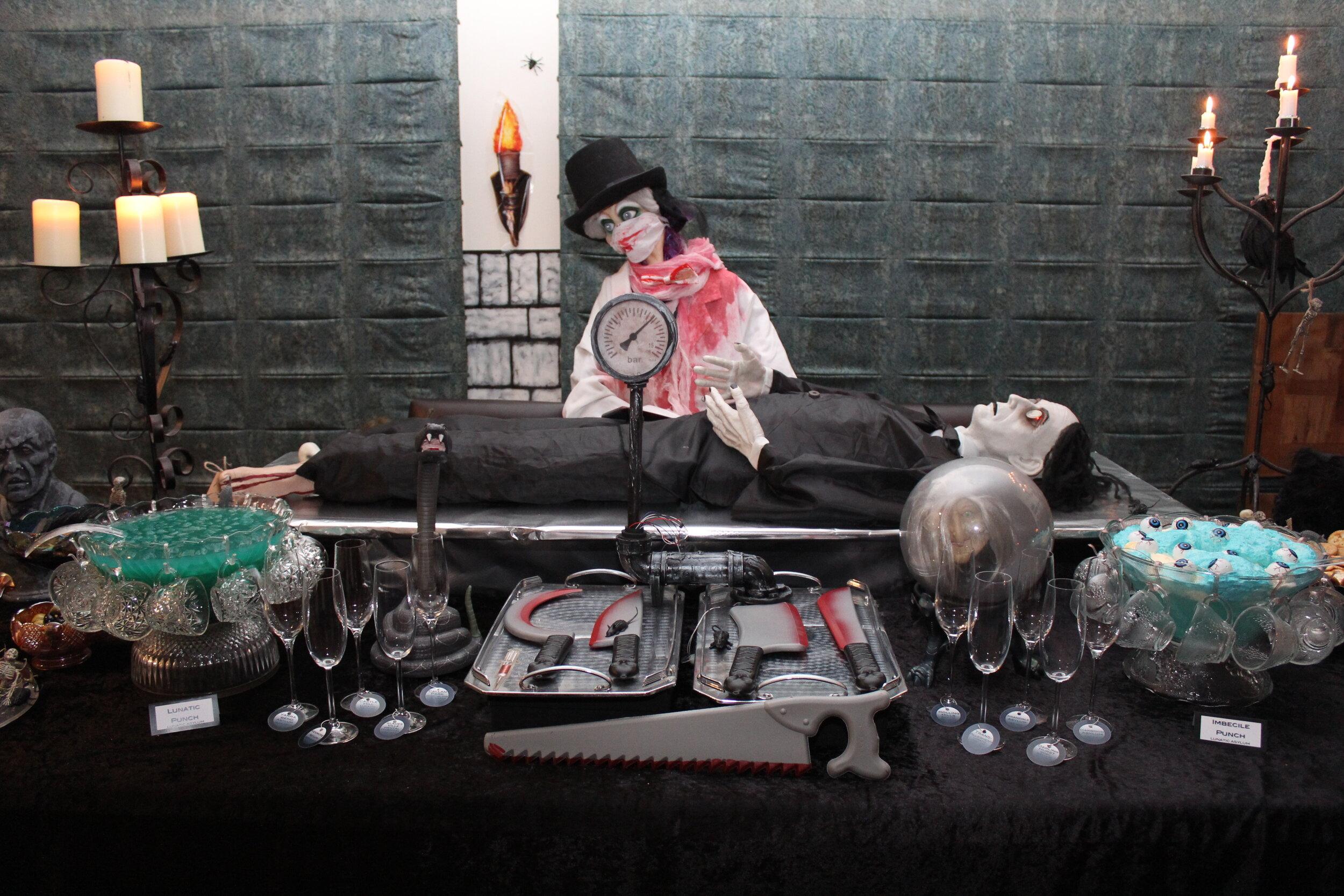 Asylum Halloween party
