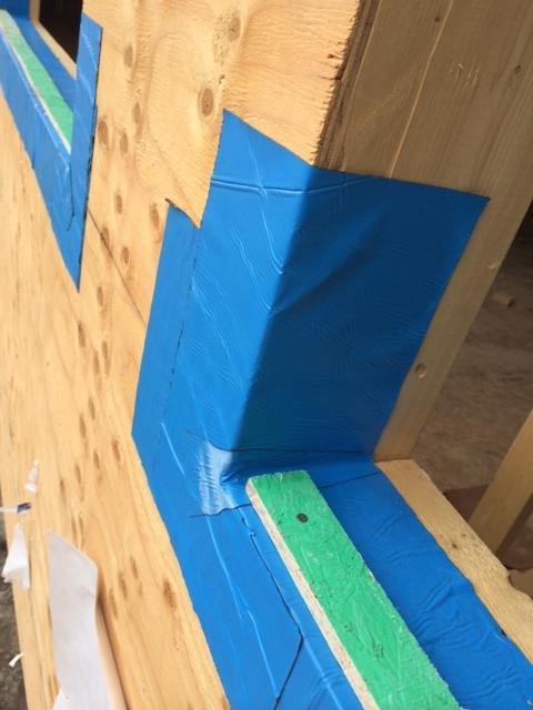 A Rocky Point home using water-proofing membrane around all edges - THE RIGHT WAY
