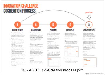 INNOVATION CHALLENGE PROCESS OVERVIEW