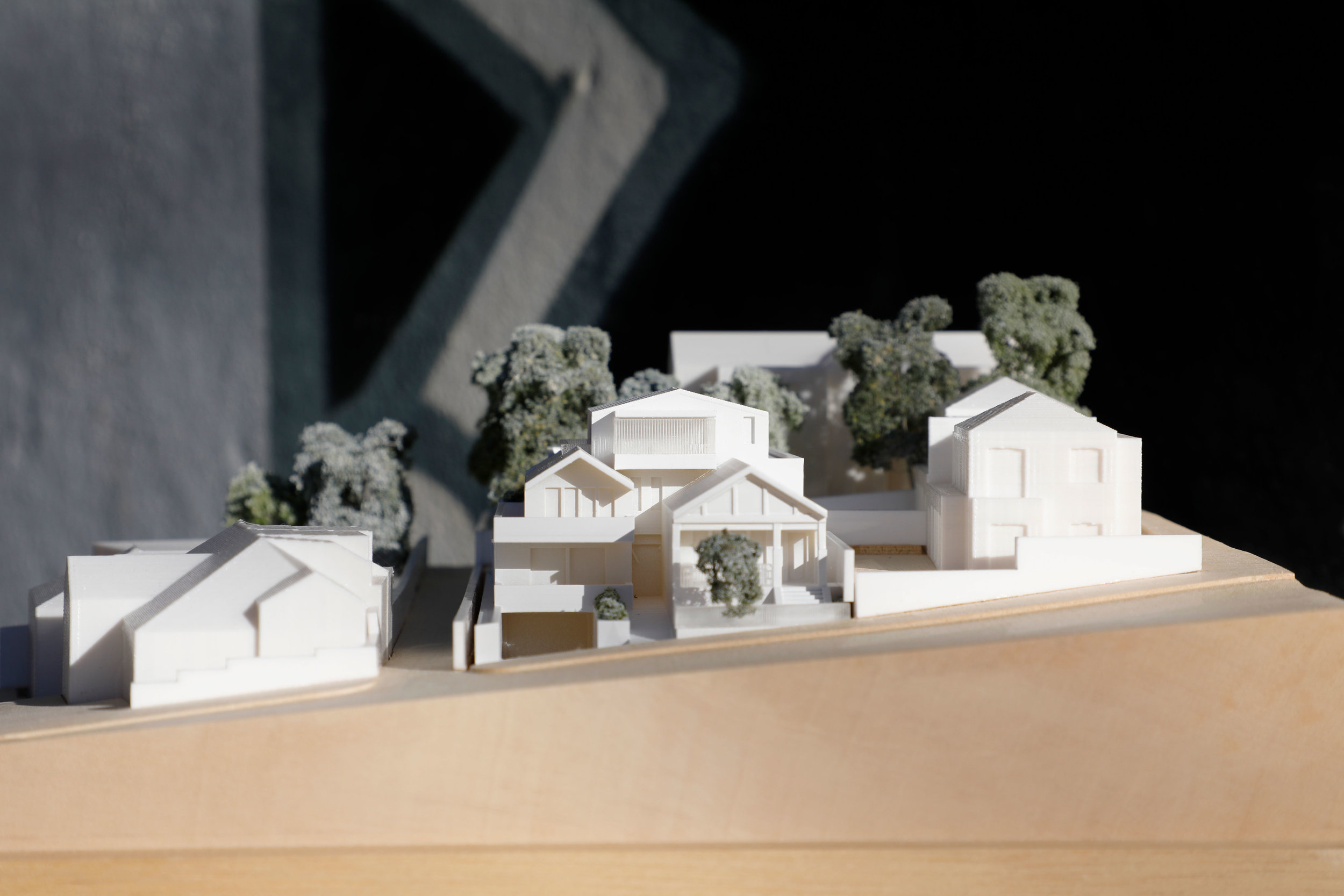 DA Model Woollahra Council 1:200