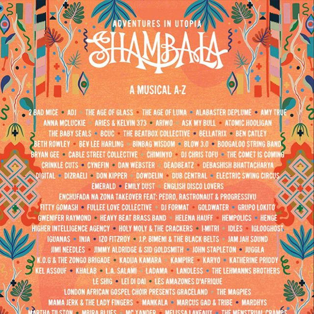 Just announced! #SHAMBALA 2019 line up is out and it is 🔥You can catch the Nujabes Experience @chaiwallahs stage on the Sunday, if you needed any more reasons to get a ticket ...