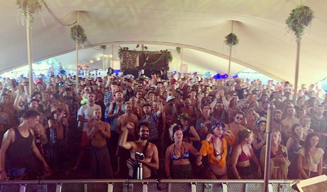 Another beautiful crowd @shambalafest - thanks @chaiwallahs for supporting us through festival season 2019, its been wicked ! . . . . . . . #nujabes #nujabesexperience #festival #hiphop #orchestra