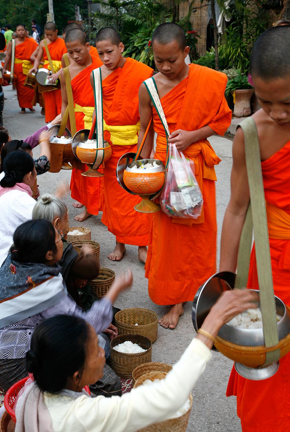 Tat bak, Luang Prabang, Laos