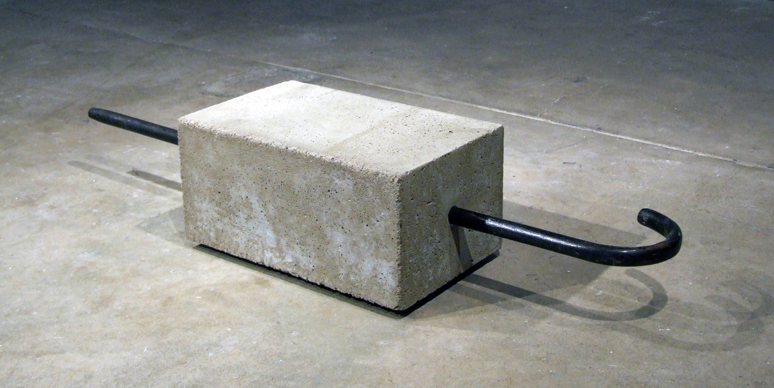 Untitled - cane, cement