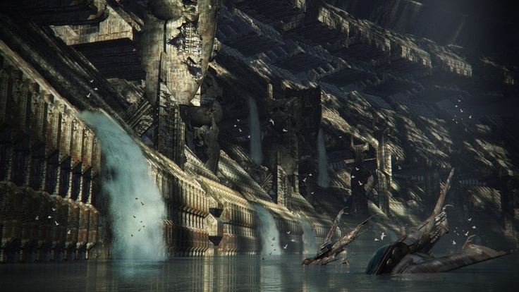 The water-logged  sub-layers of Hive Nord; opening  into the northern sea channels - the perfect infiltration point for the tyranid hordes now running AMOK within