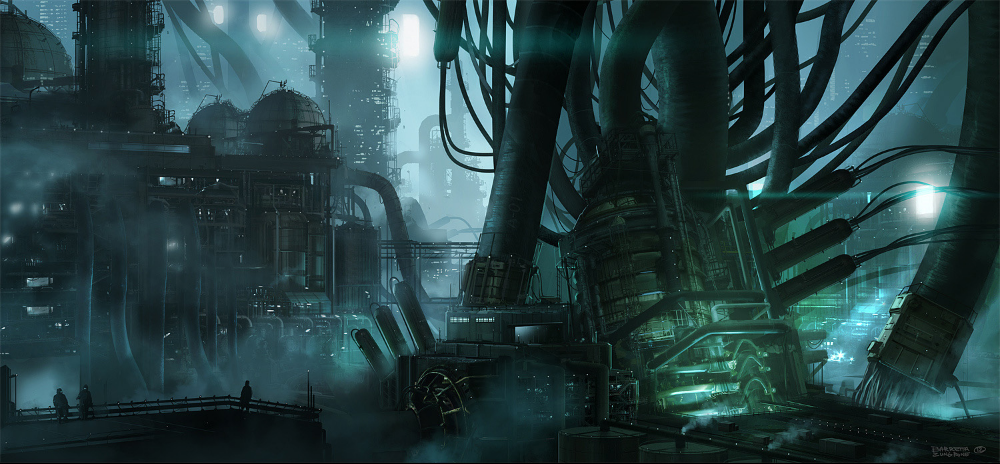 the imperial power station in zone 27: now in foul xenos hands!