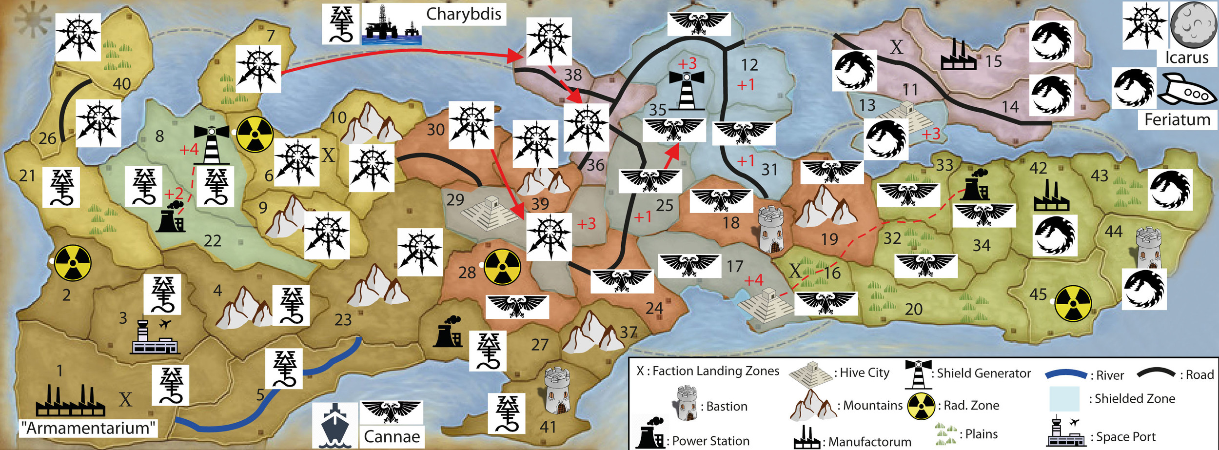 WINTER CAMPAIGN - END OF TURN 12A: Post-apocalypse