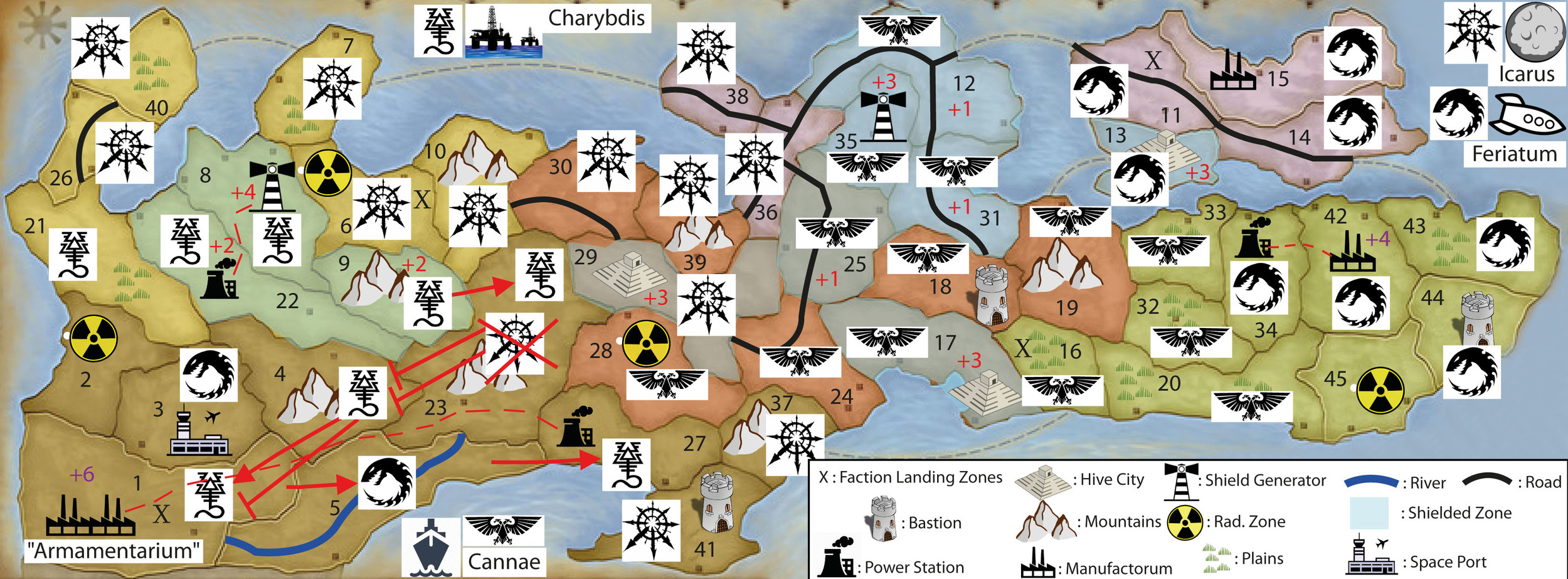 WINTER CAMPAIGN - END OF TURN 17