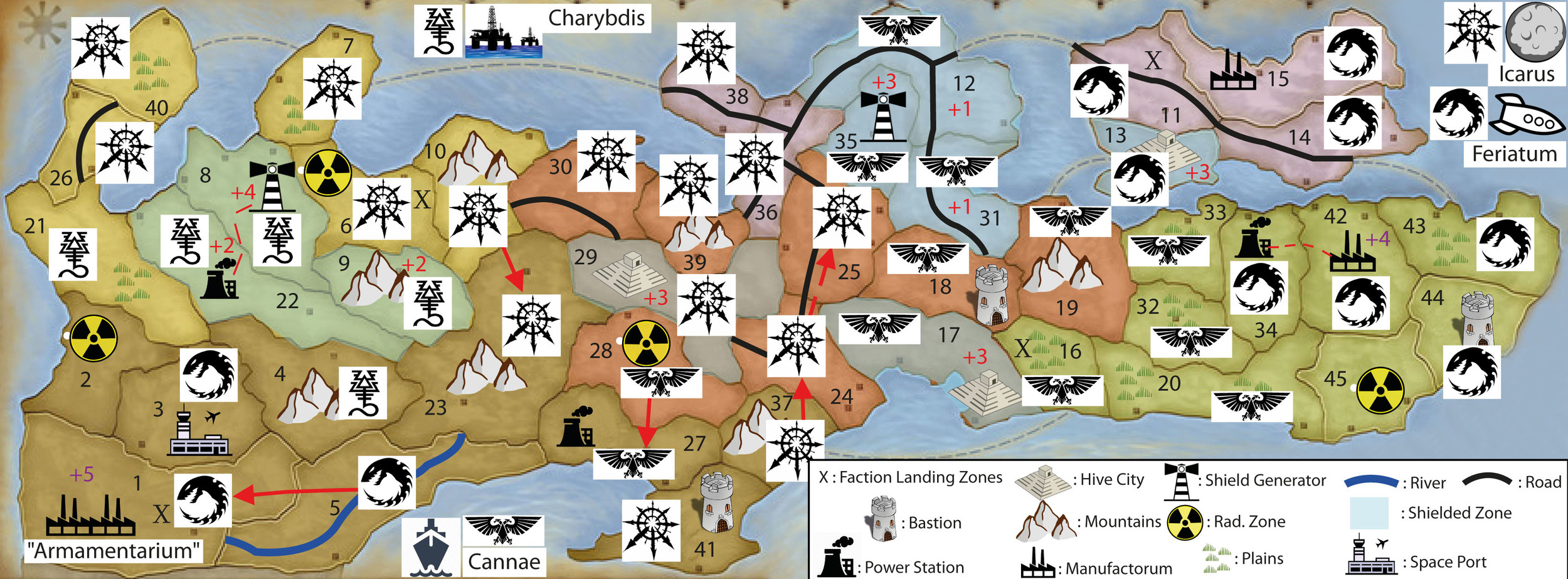 WINTER CAMPAIGN - END OF TURN 18