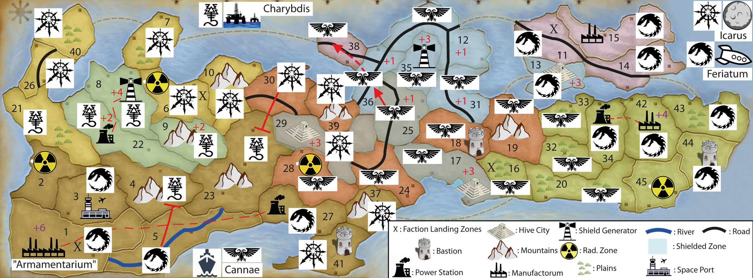 WINTER CAMPAIGN - END OF TURN 20