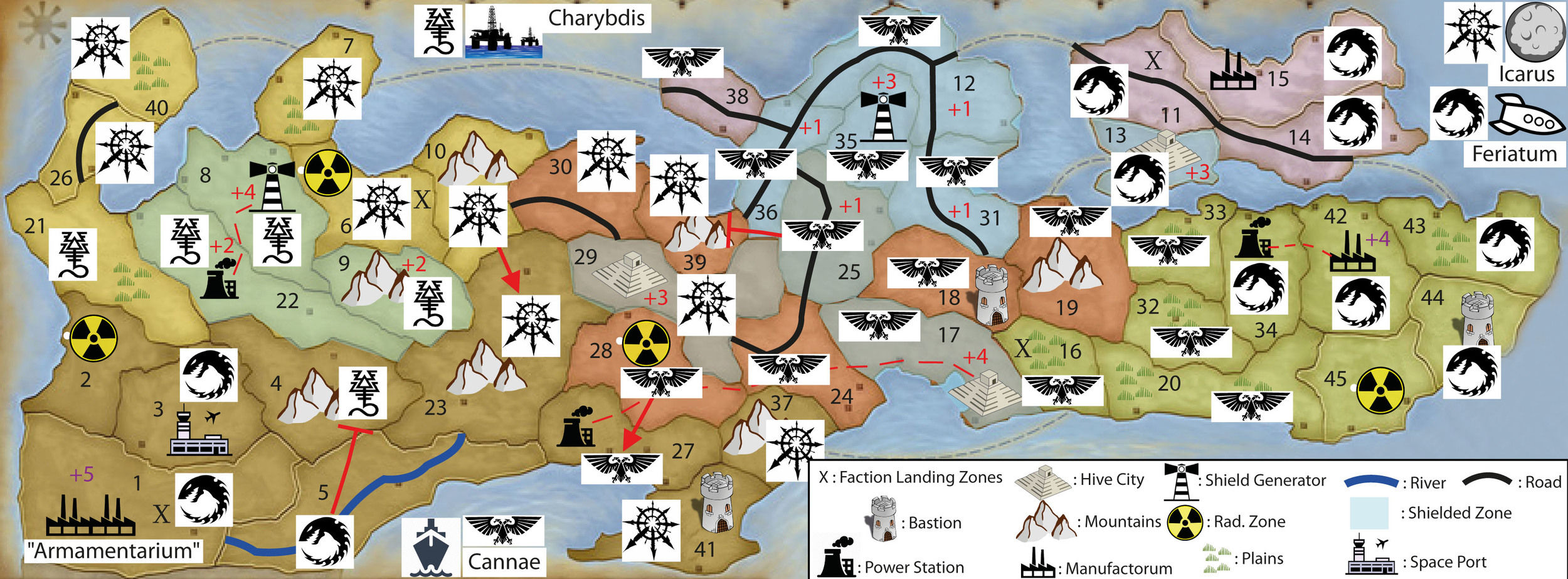 WINTER CAMPAIGN - END OF TURN 21