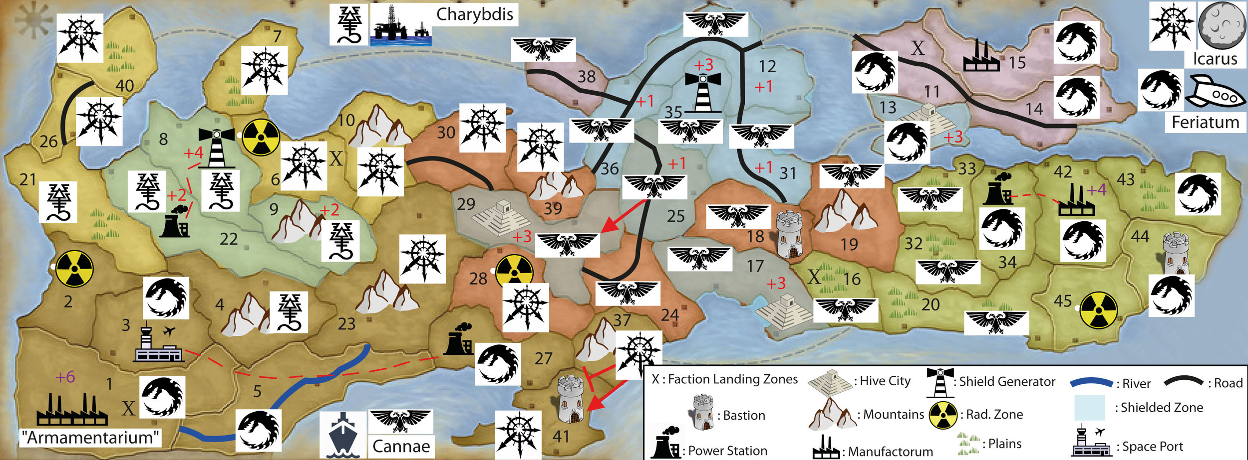 WINTER CAMPAIGN - END OF TURN 23