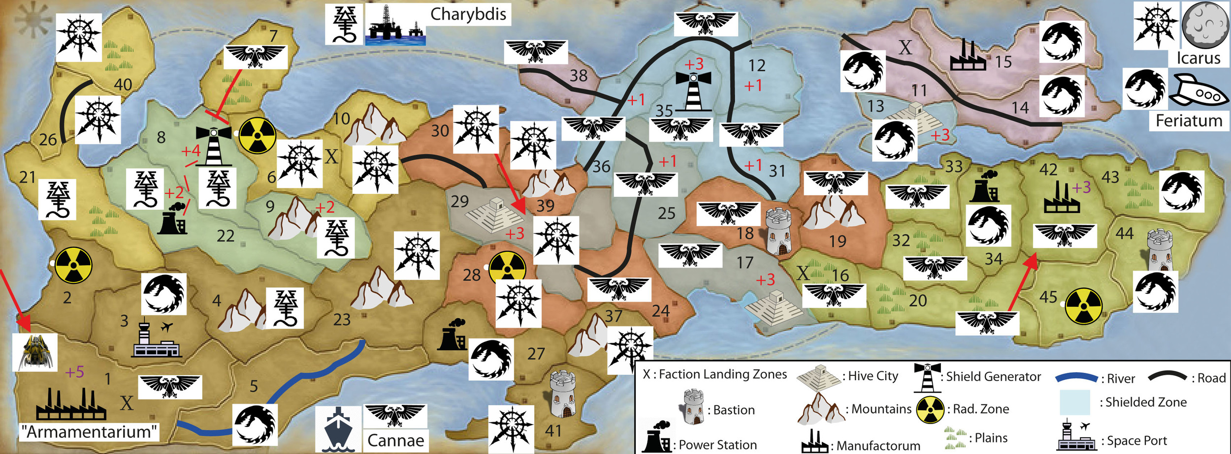 WINTER CAMPAIGN - END OF TURN 25