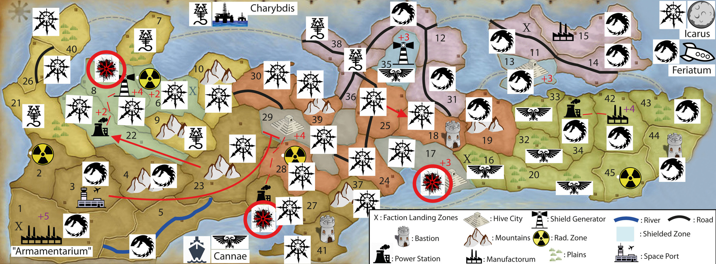 WINTER CAMPAIGN - END OF TURN 30