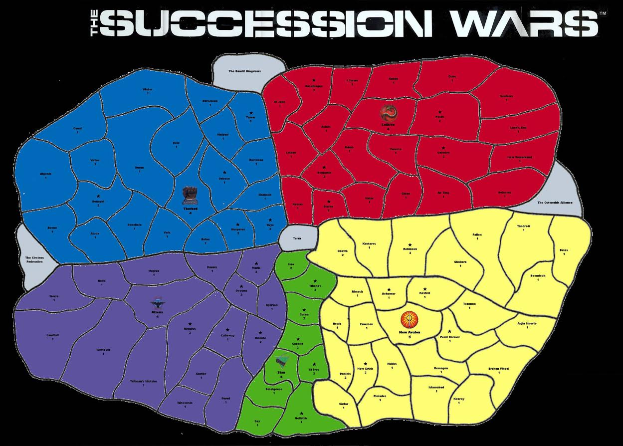 SUccession wars: strating positions