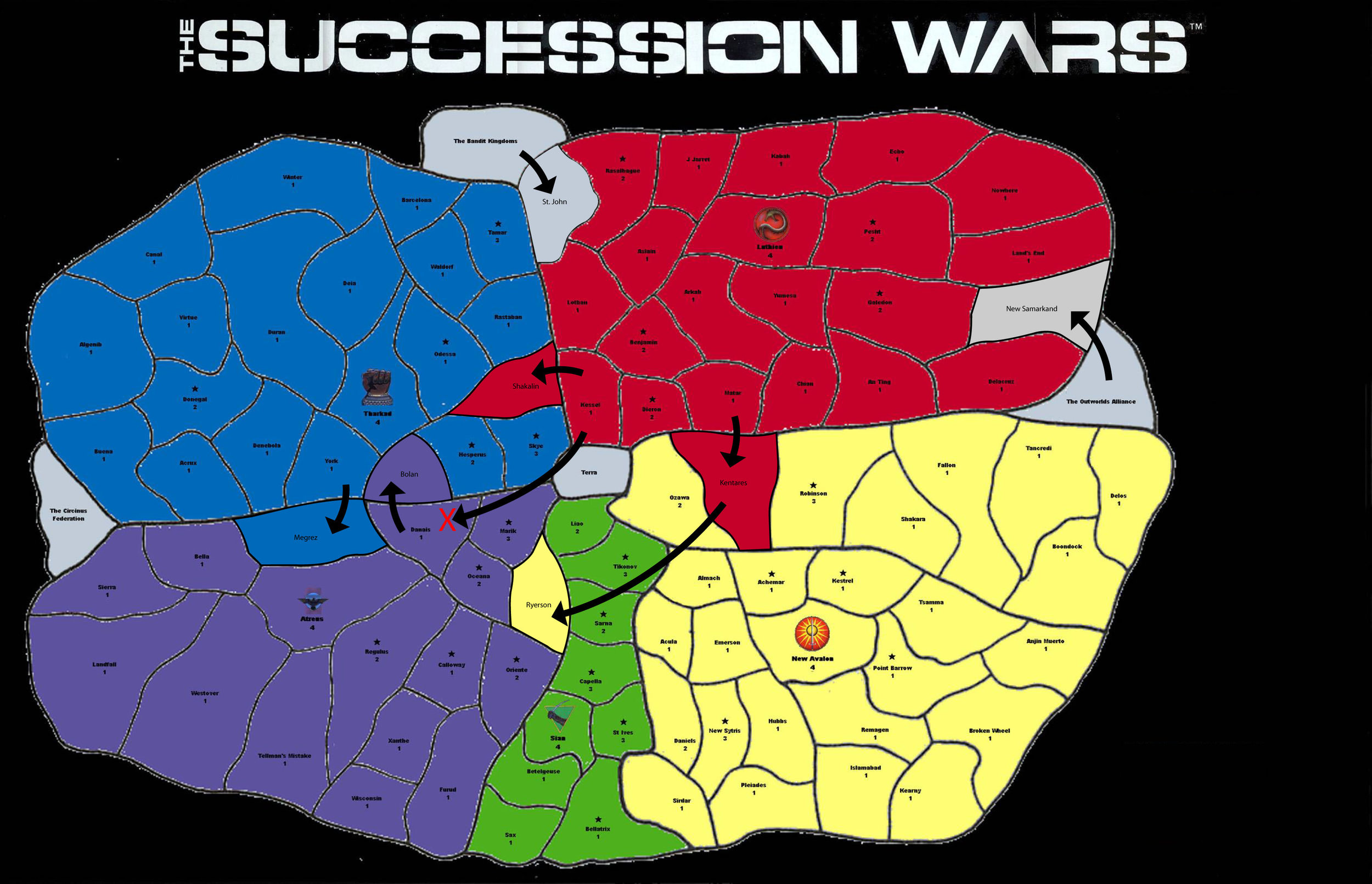 succession wars - year 1 - 30??