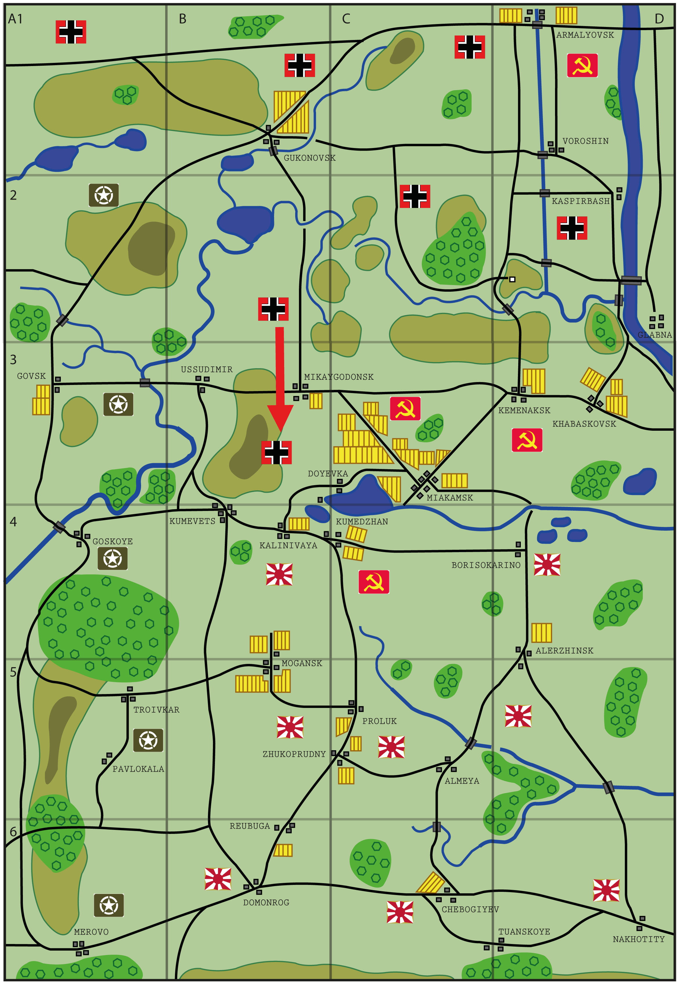 Ostfront campaign - 21st October 1944