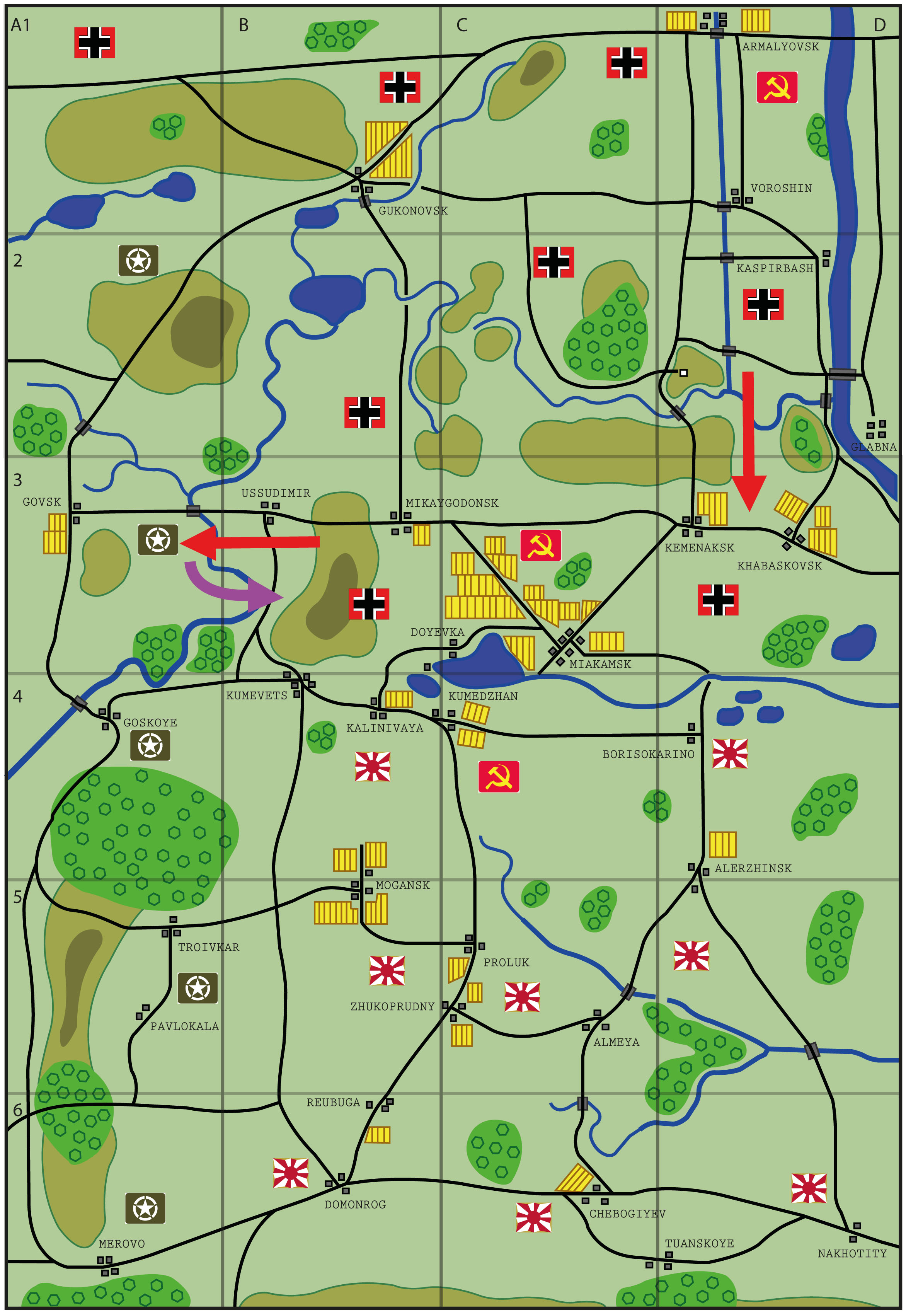 Ostfront campaign - 10th January - 17th January 1945