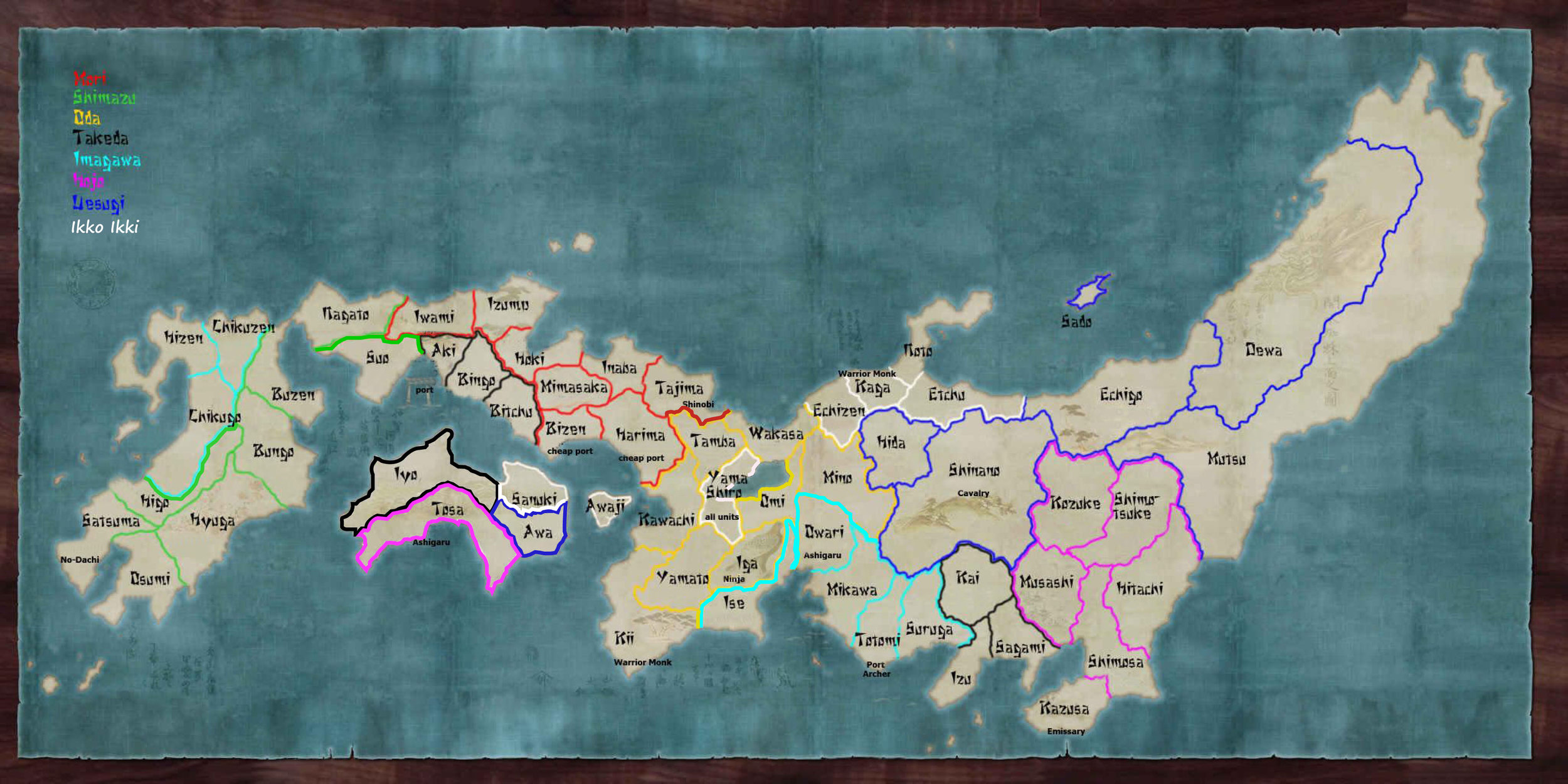 Starting map - DEVELOPED from work done by mizu on forums.totalwar.org